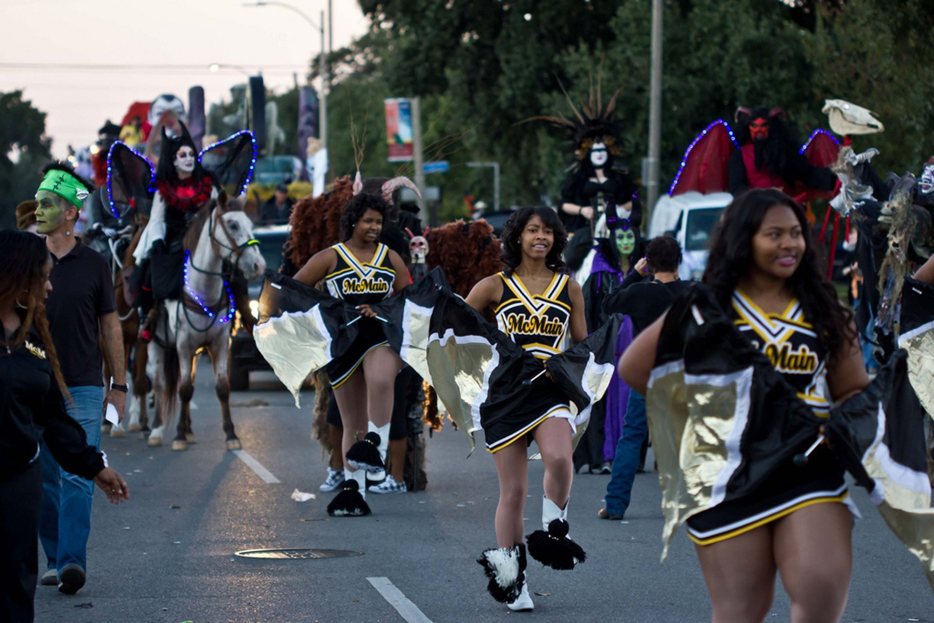 Krewe of Boo Halloween Parade in New Orleans - Best Season