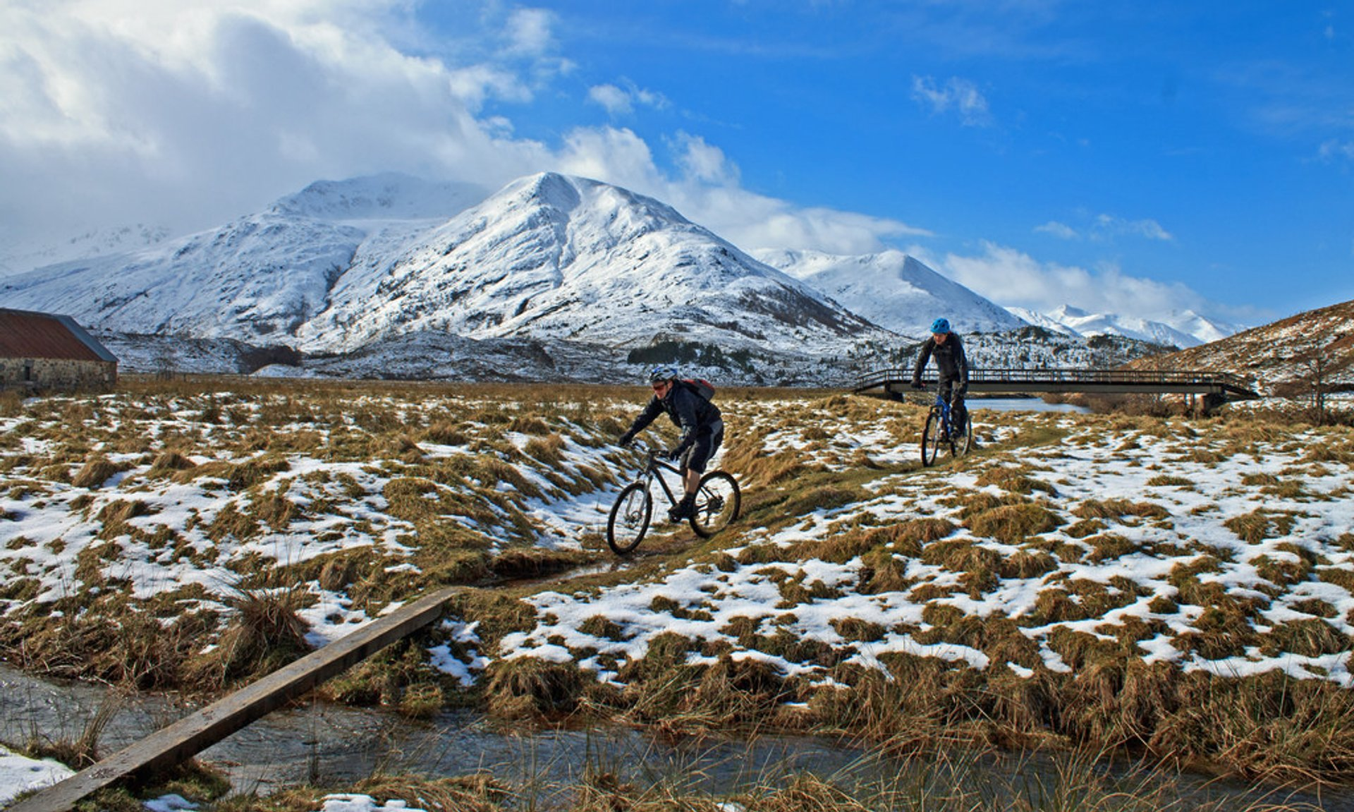 Biking in Glen Affric 2020