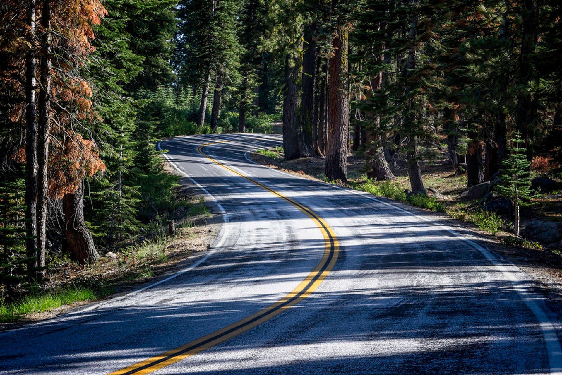 Tioga Road in Yosemite - Best Season 2020