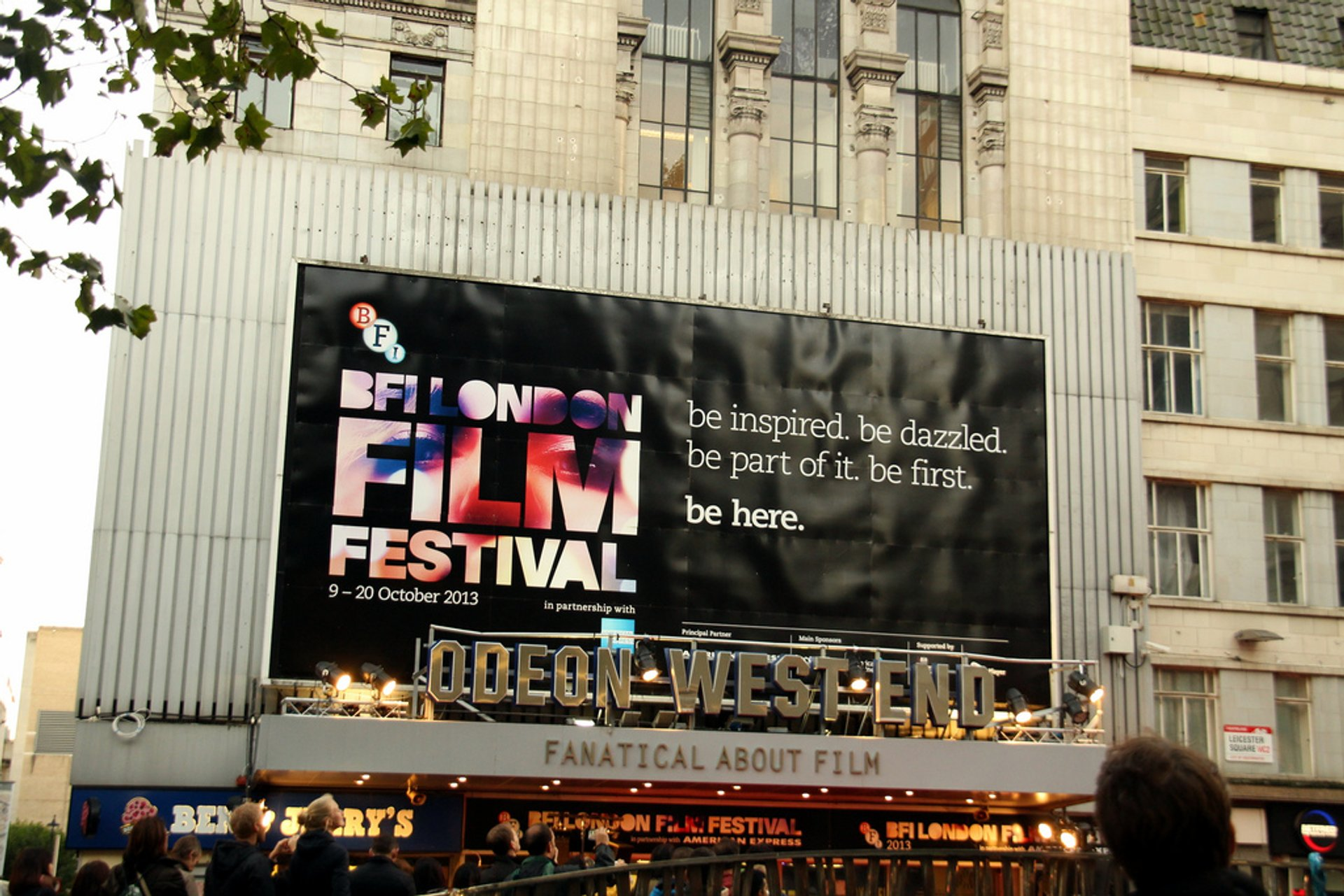 Best time for BFI London Film Festival 2020