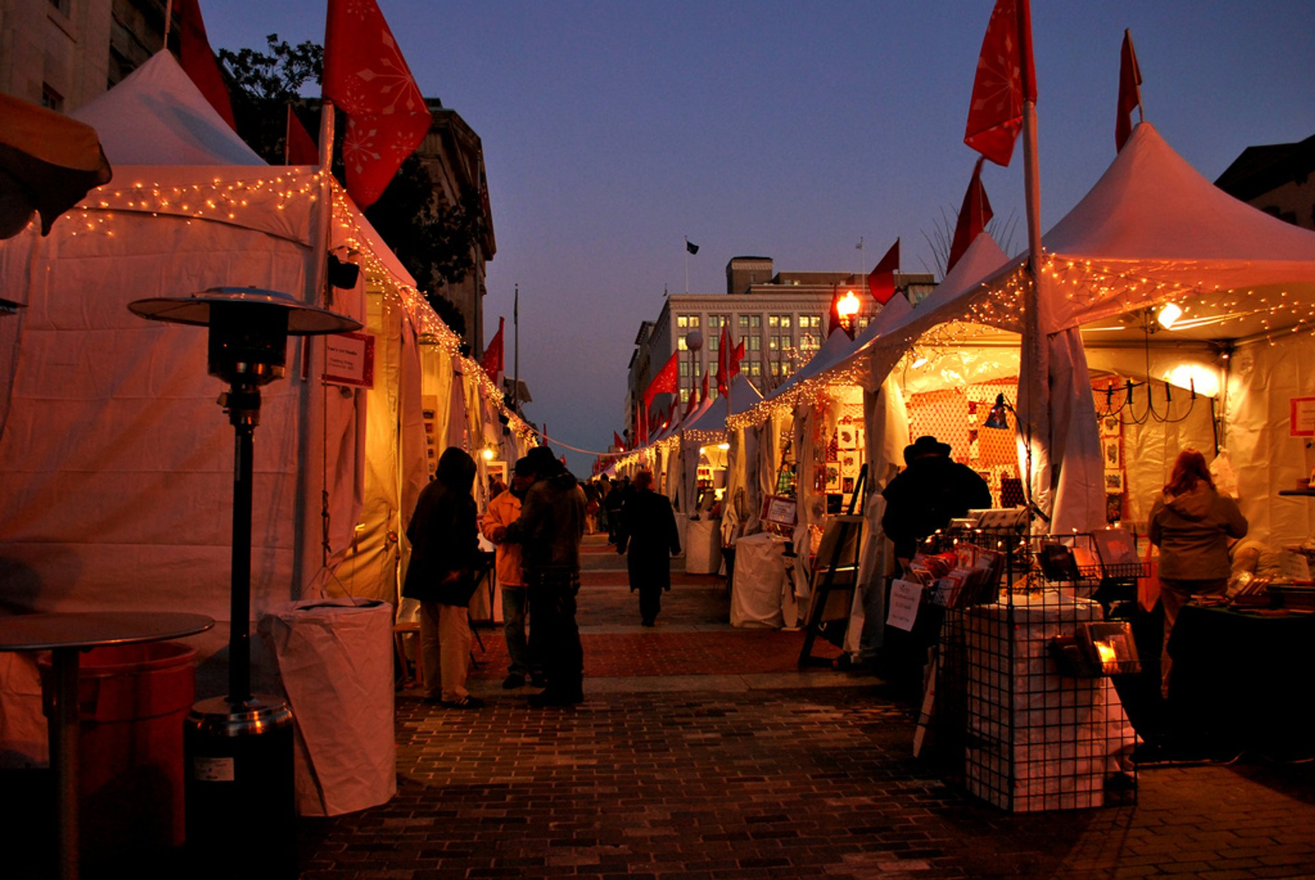 Downtown Holiday Market in Washington, D.C. - Best Season 2019