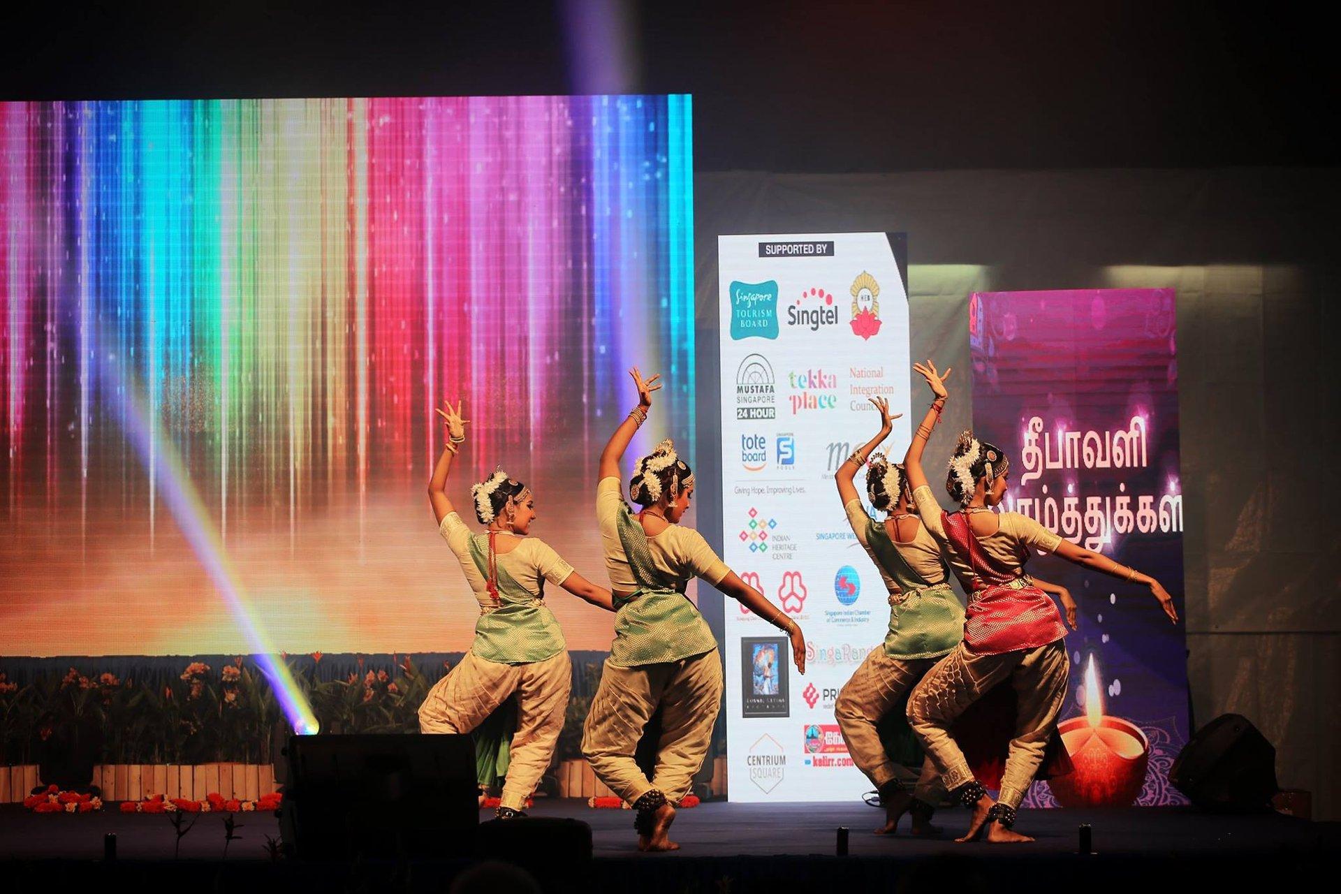 Deepavali Countdown Concert (Amarkala Deepavali) on Mackenzie Rd, Singapore 2020