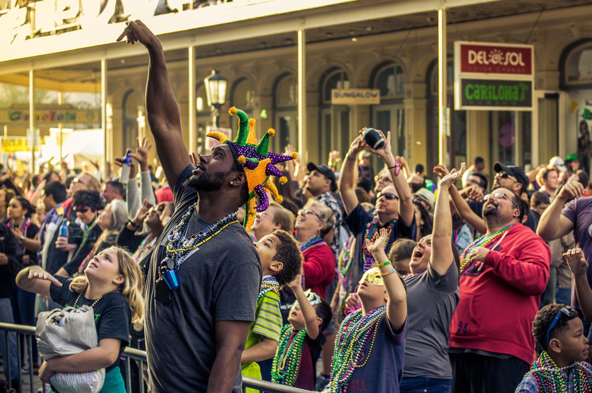 Mardi Gras! Galveston in Texas - Best Season 2020
