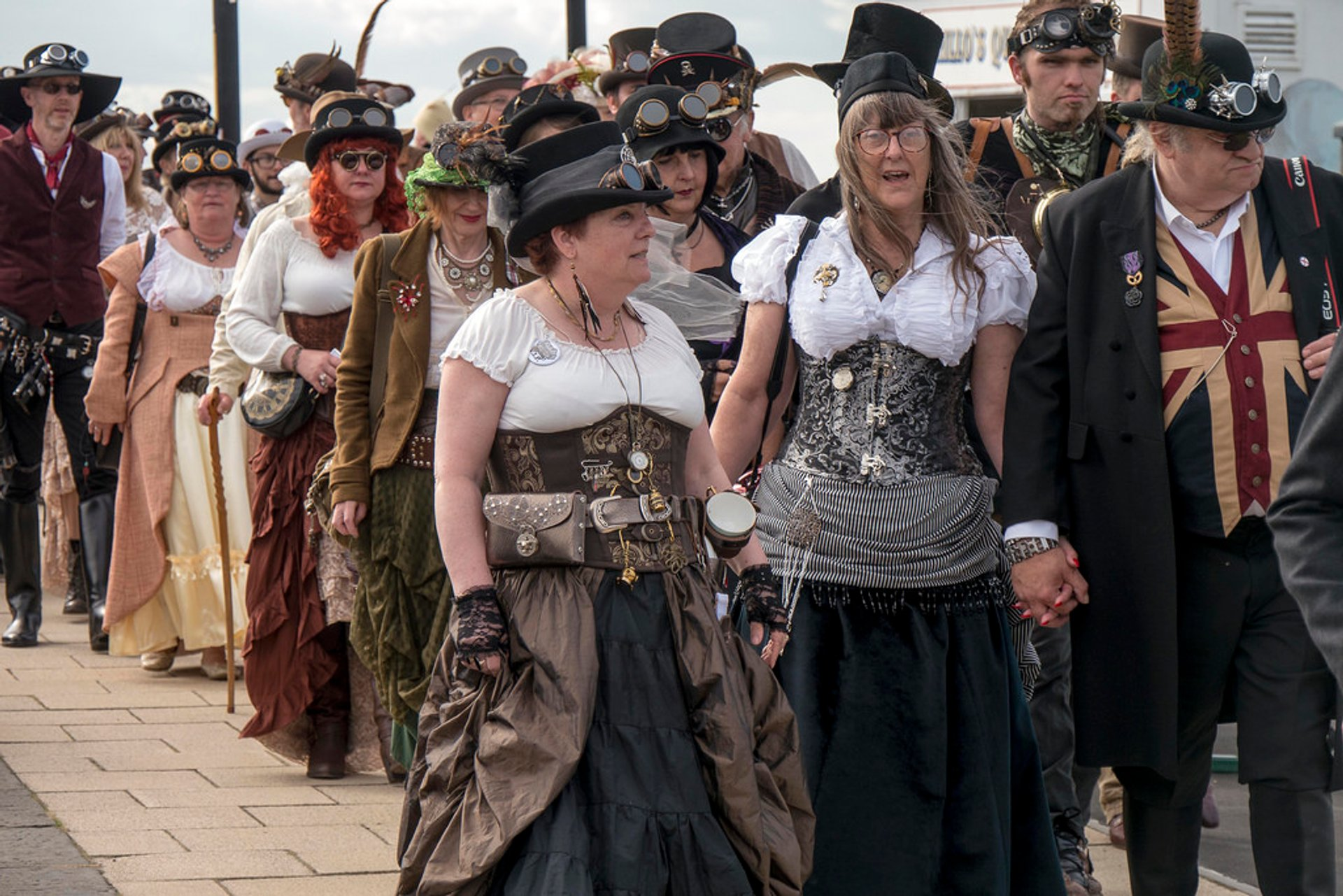 Best time to see Whitby Goth Weekend in England 2020