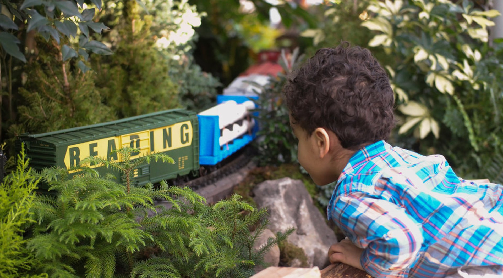 Best time for Holiday Train Show in New York 2020