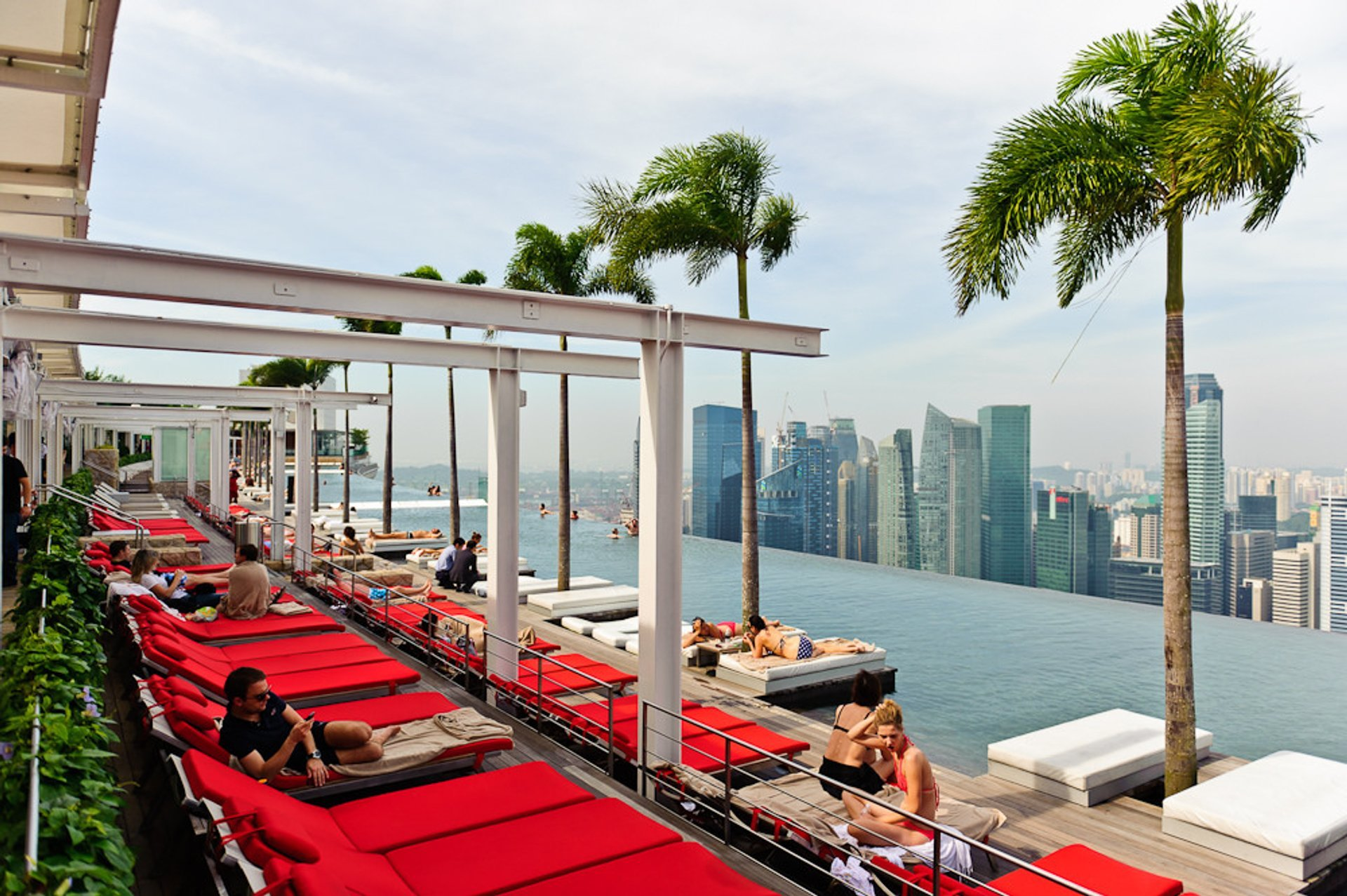 Marina Bay Sands SkyPark in Singapore - Best Time