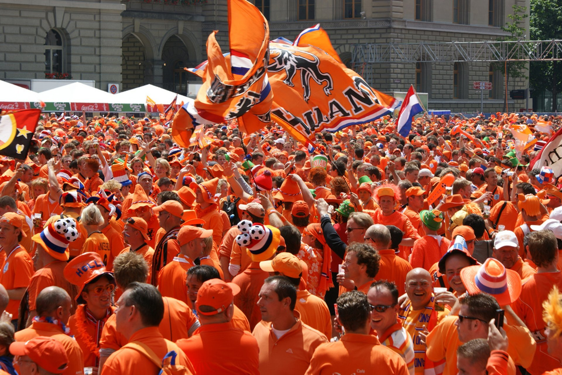 Football Orange Fever in The Netherlands 2020 - Best Time