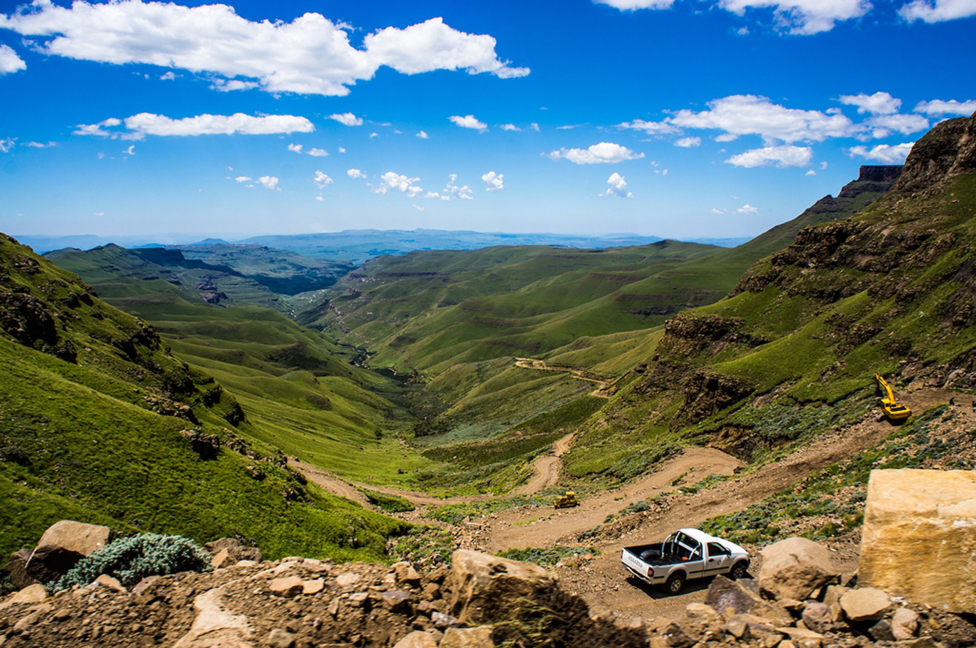 Best time for Sani Pass Road in South Africa 2019