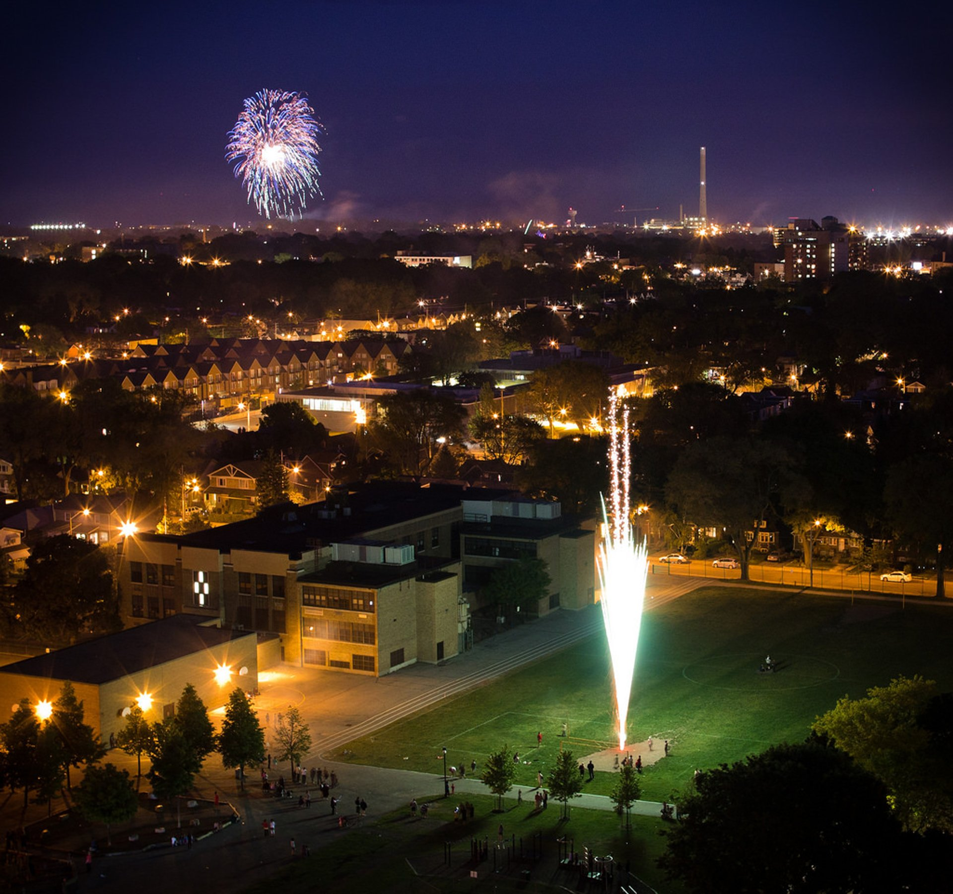 Victoria Day Fireworks in Toronto - Best Season 2020