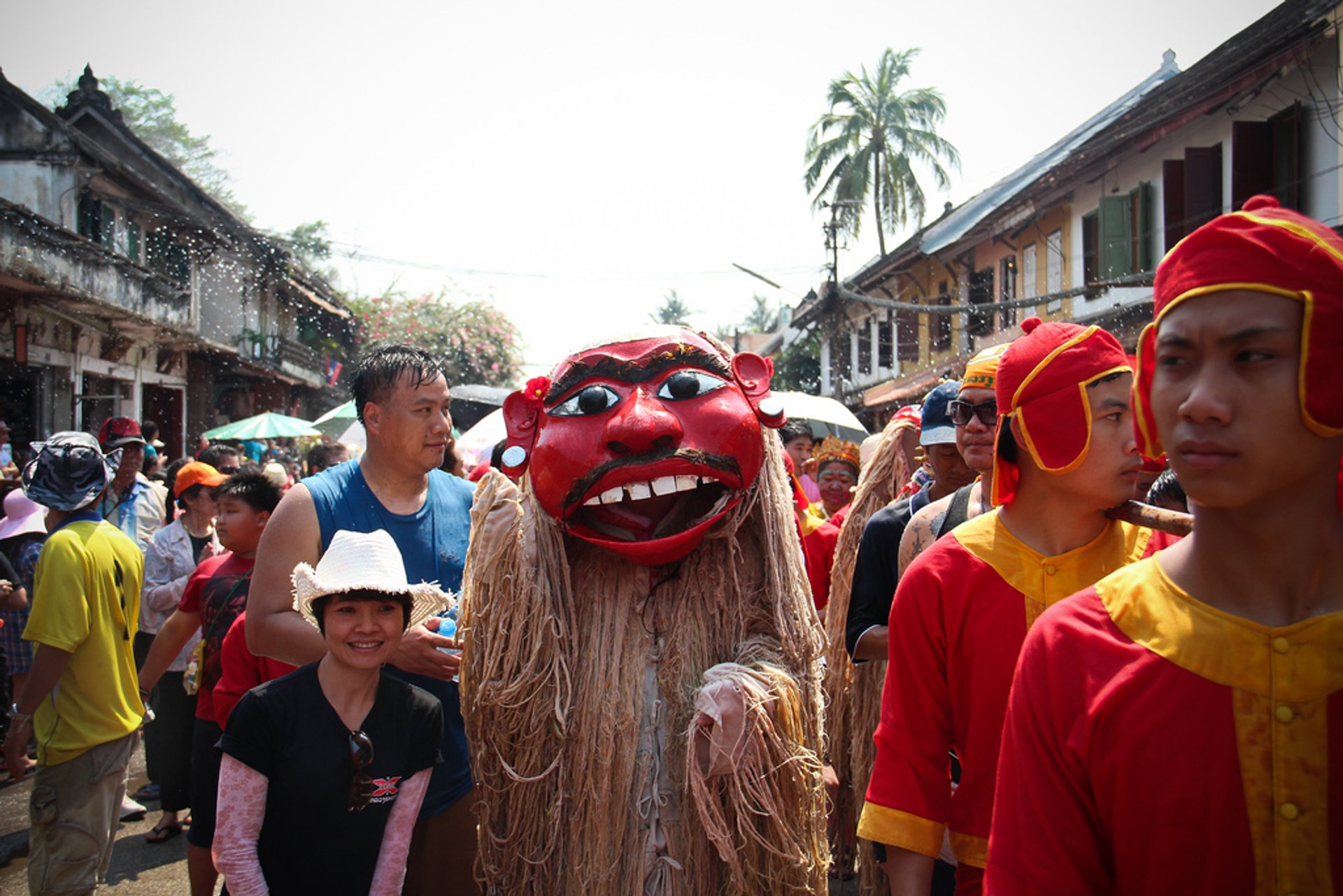 Best time to see Pi Mai Lao or Songkran—Lao New Year & Water Festival in Laos 2020