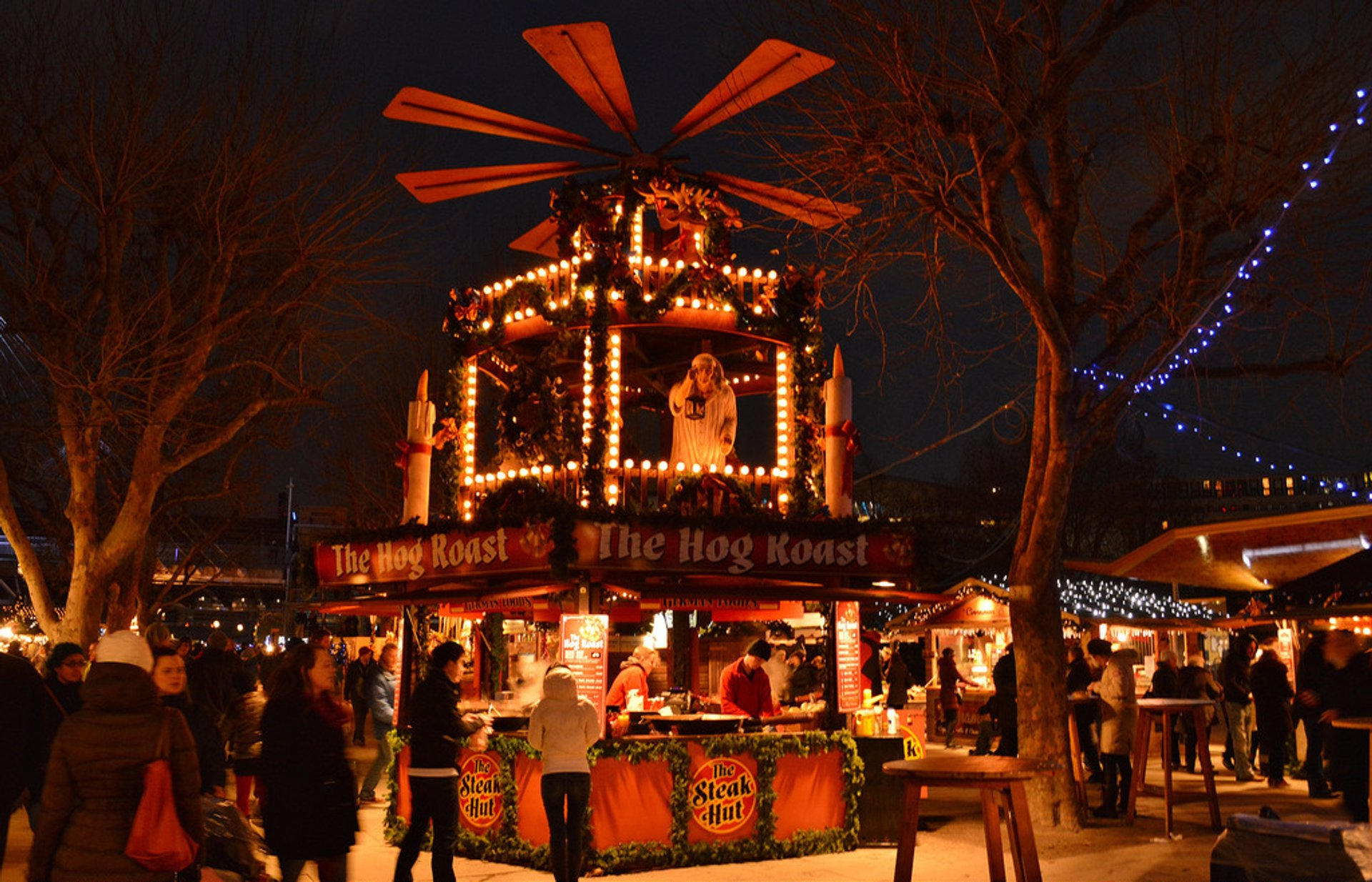 Best time to see Southbank Centre Winter Market in London 2020