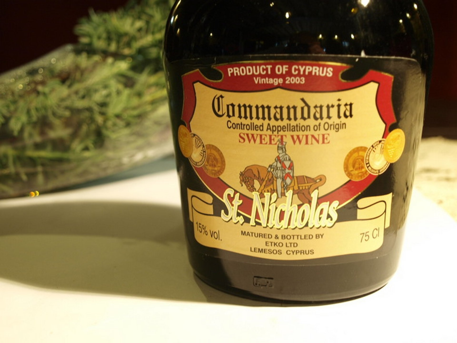Commandaria Wine in Cyprus - Best Season 2019