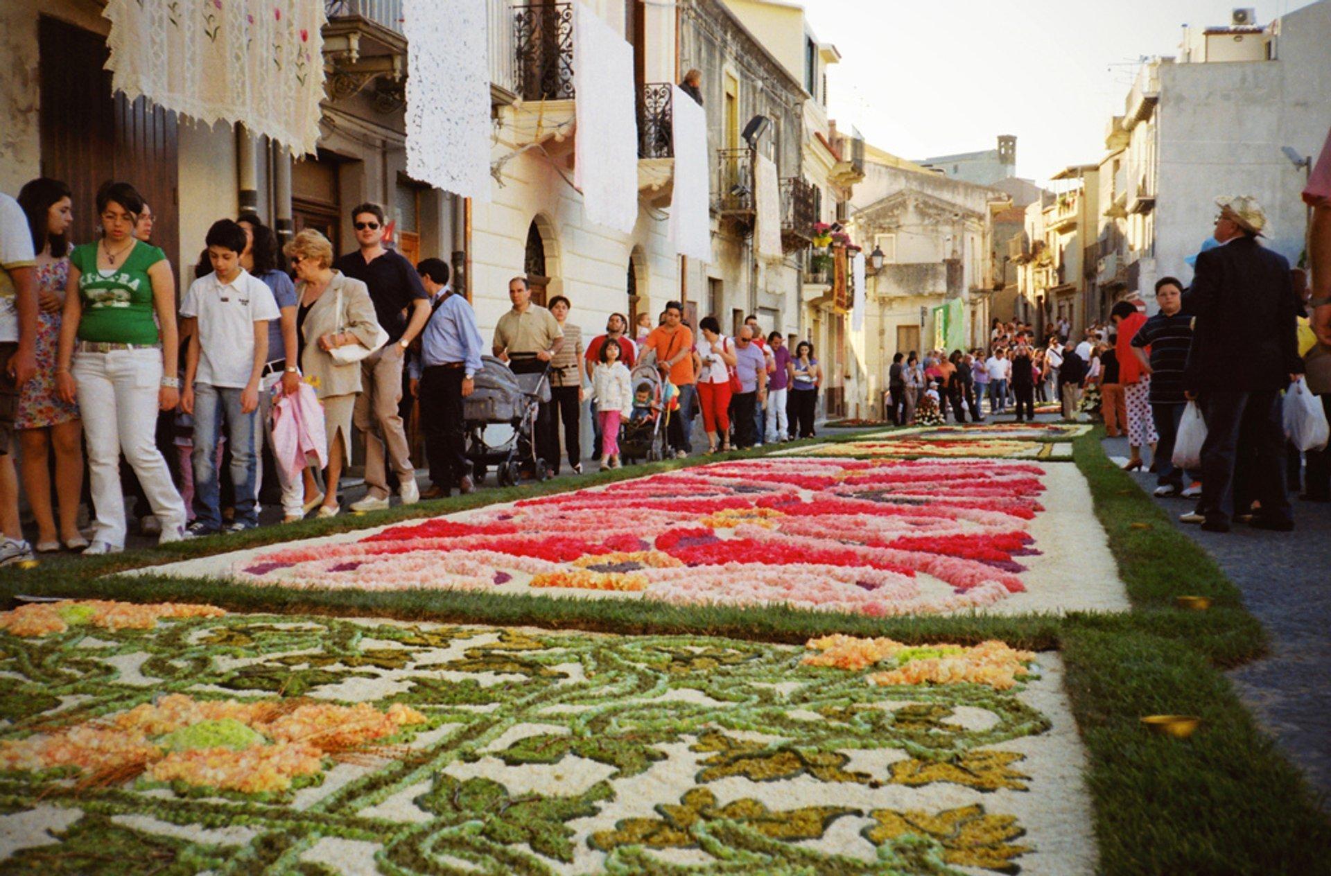 Infiorata Flower Carpet Festivals in Italy - Best Season 2020