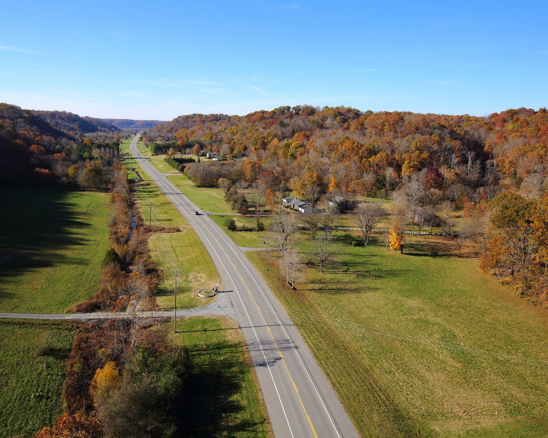 Natchez Trace Parkway in Tennessee - Best Season 2019