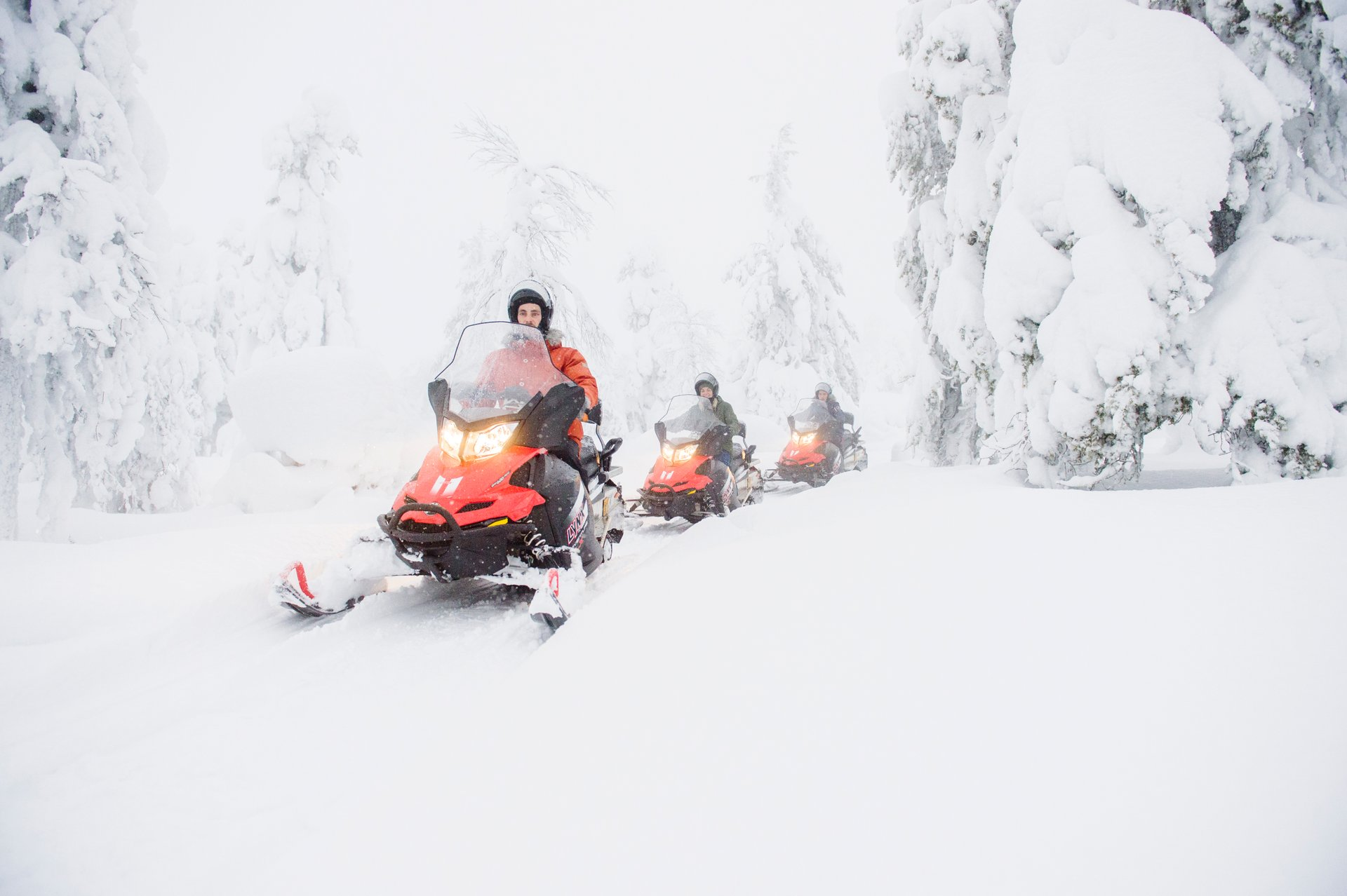 Snowmobiling in Finland 2019 - Best Time
