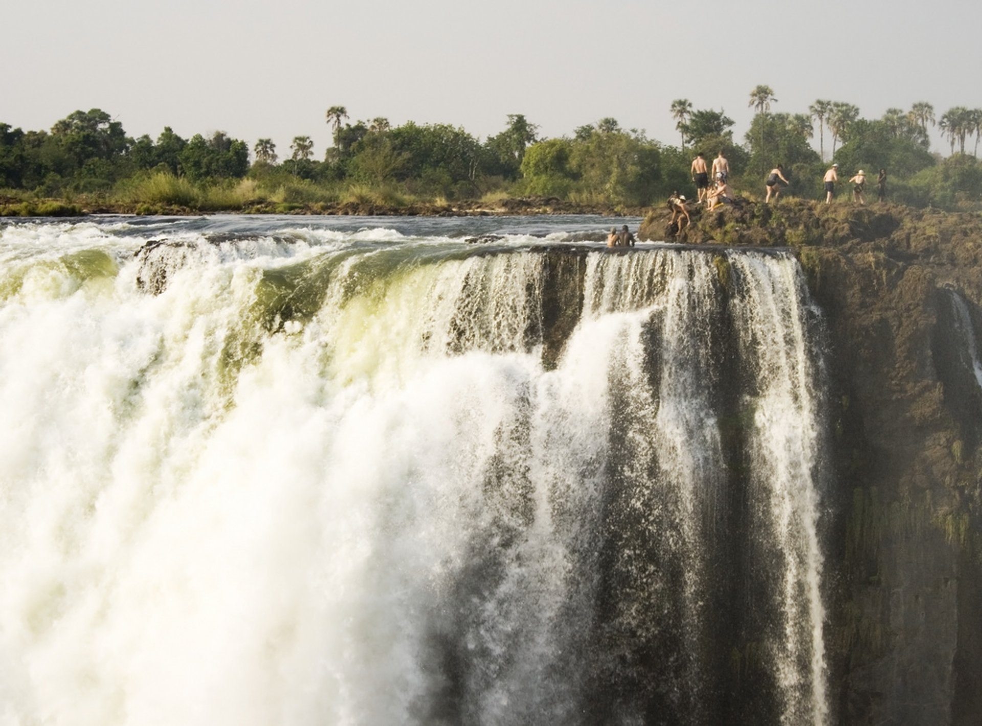 Devil's Pool in Zambia - Best Season