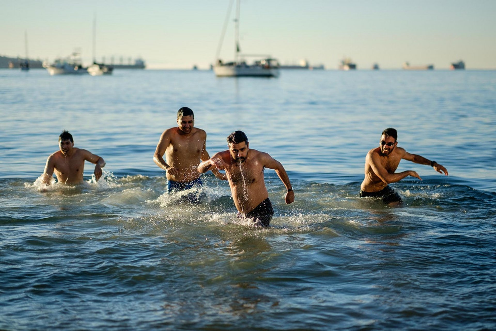 The Annual Polar Bear Swim 2020