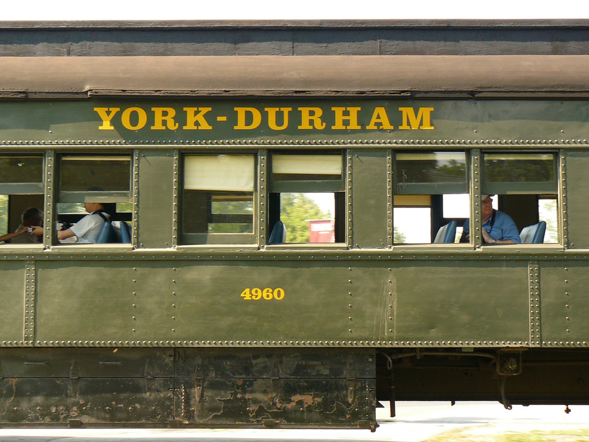 York-Durham Heritage Railway in Toronto - Best Season 2020