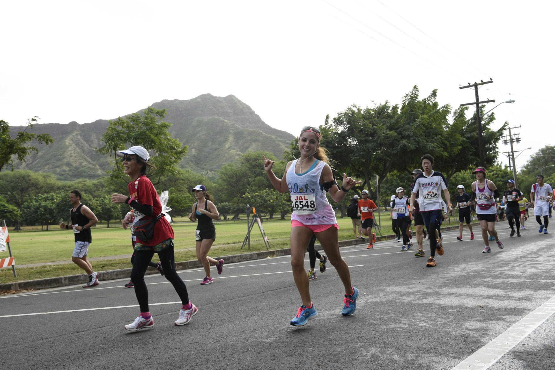 Best time to see Honolulu Marathon 2020