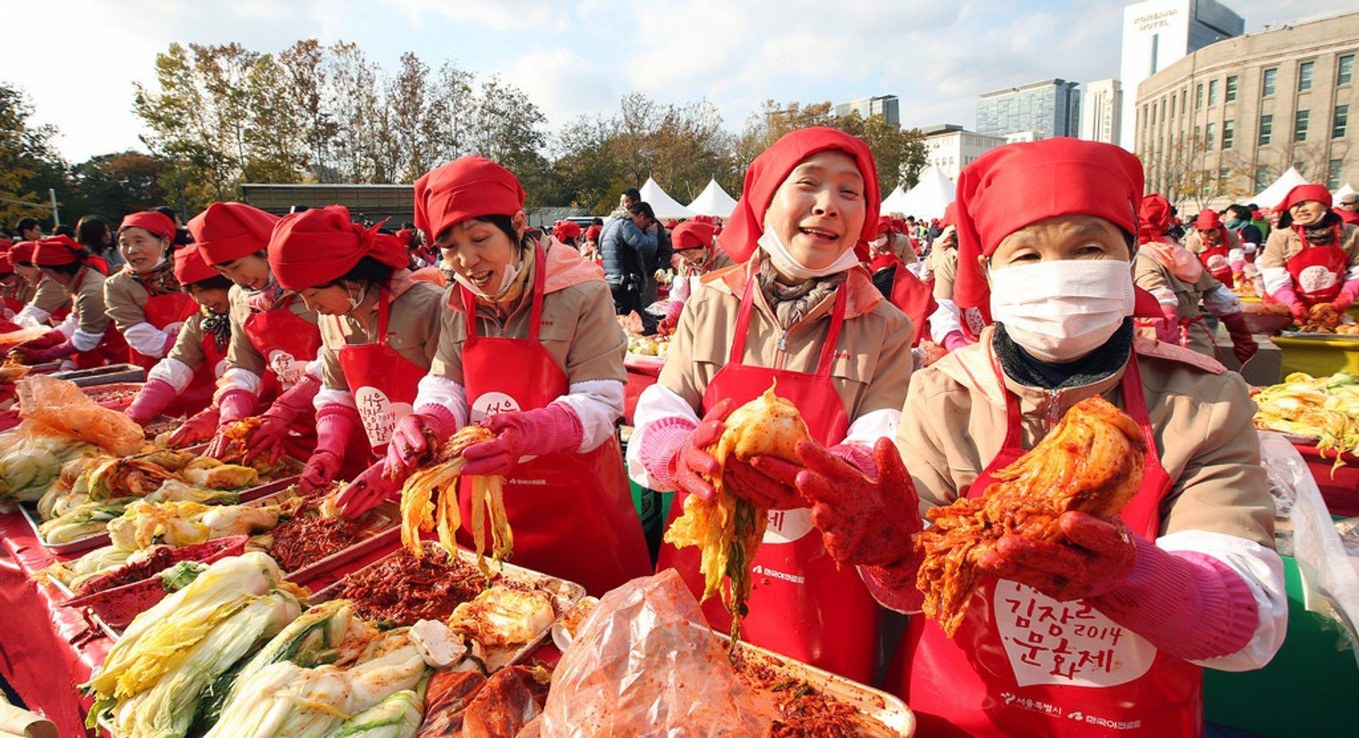 Kimchi Festival in Seoul 2019 - Best Time