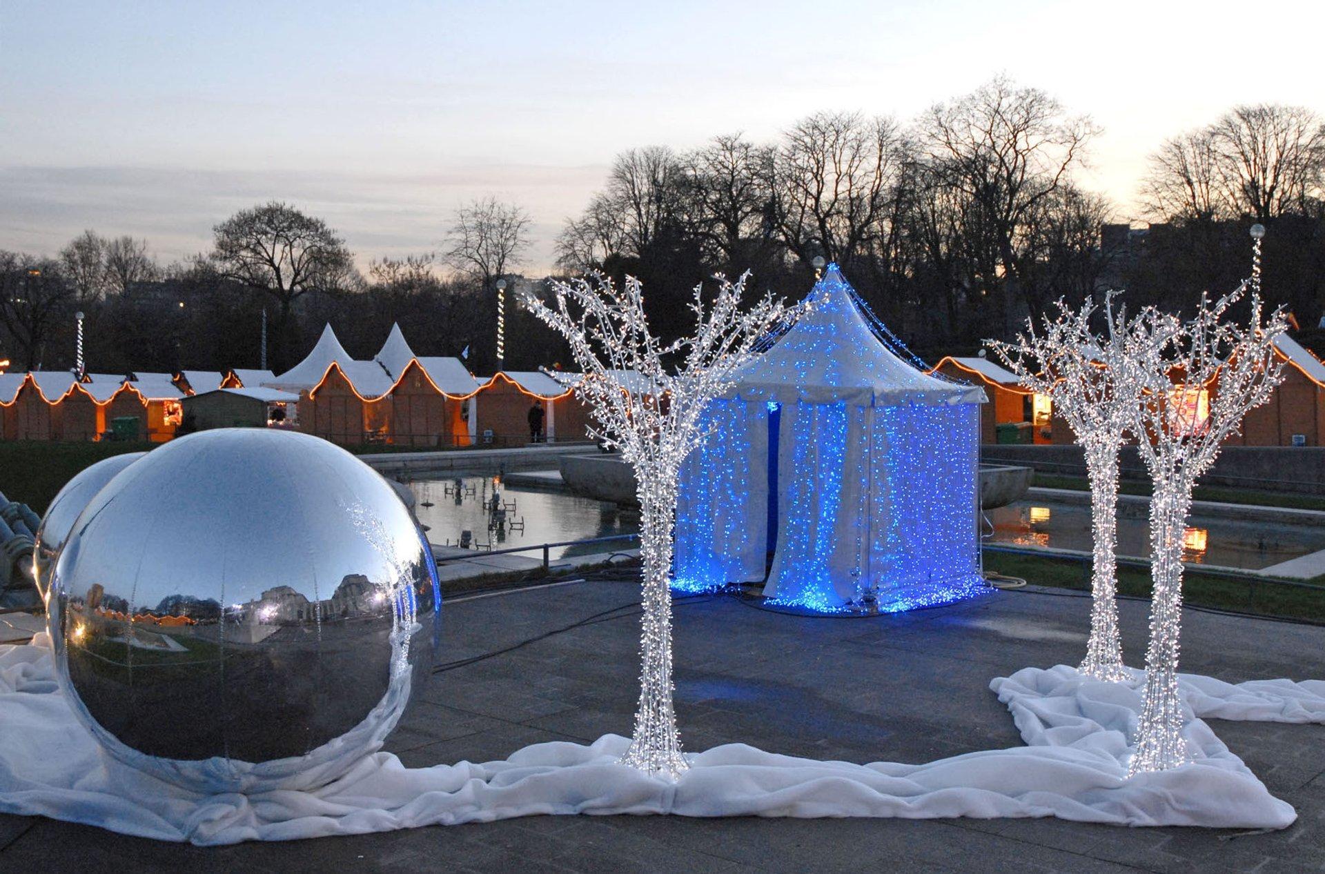 TrocadéRo On Christmas 2020 Christmas Markets 2020 2021 in Paris   Dates