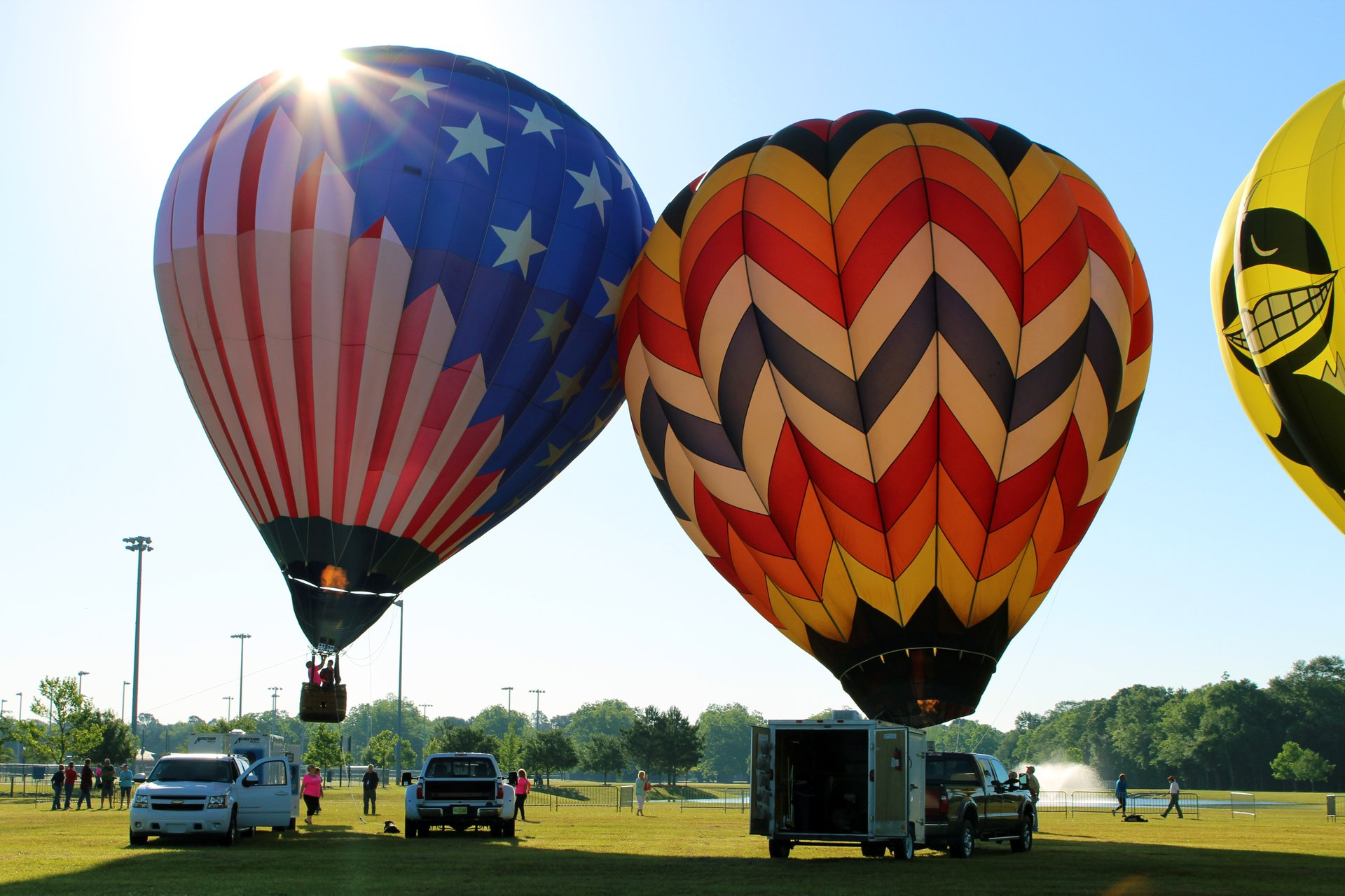 Gulf Coast Hot Air Balloon Festival in Alabama - Best Season 2020