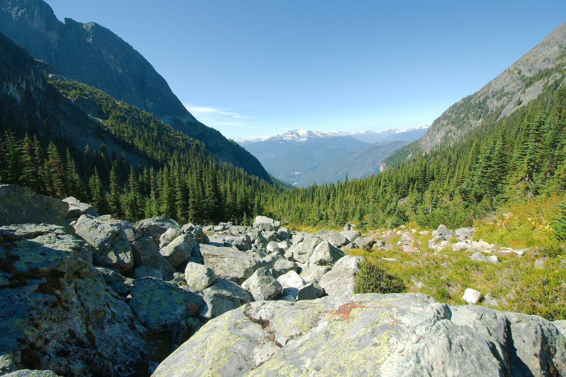 Wedgemount Lake in British Columbia - Best Season 2020