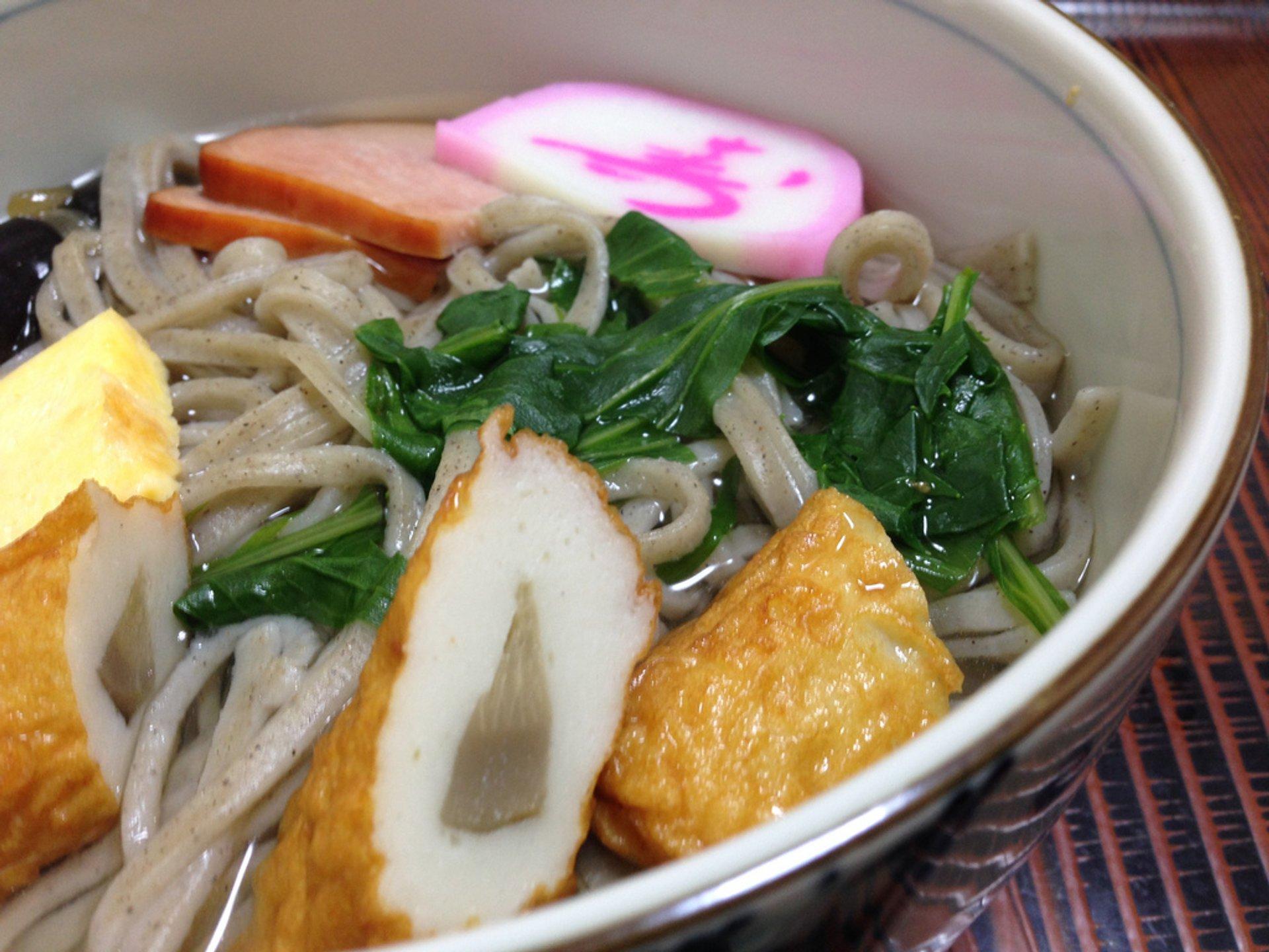 Toshikoshi Soba in Japan - Best Time