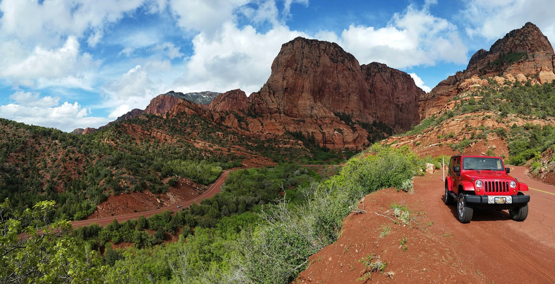 Best time for Kolob Canyons Scenic Drive