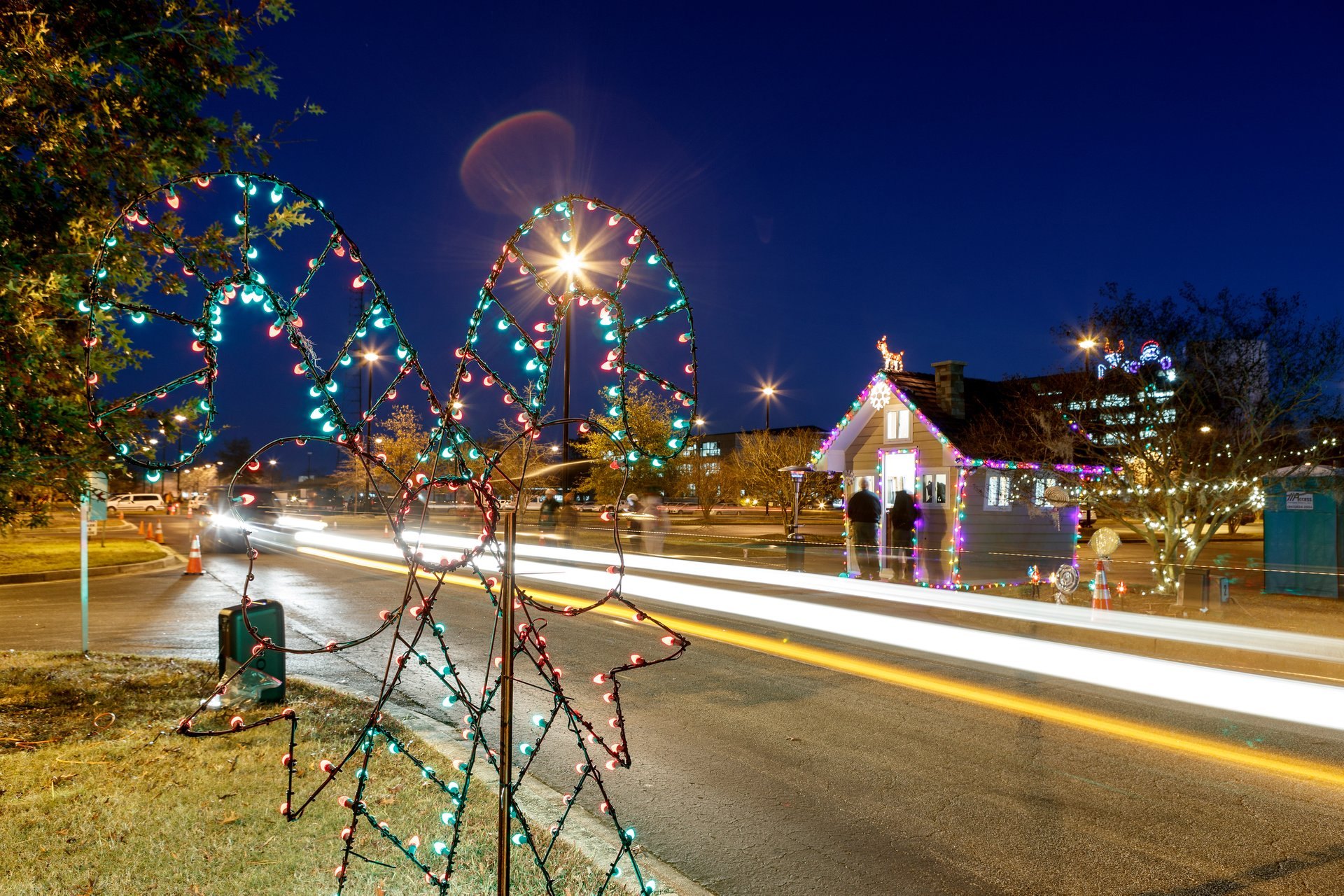 Best time to see Christmas Lights in South Carolina 2020