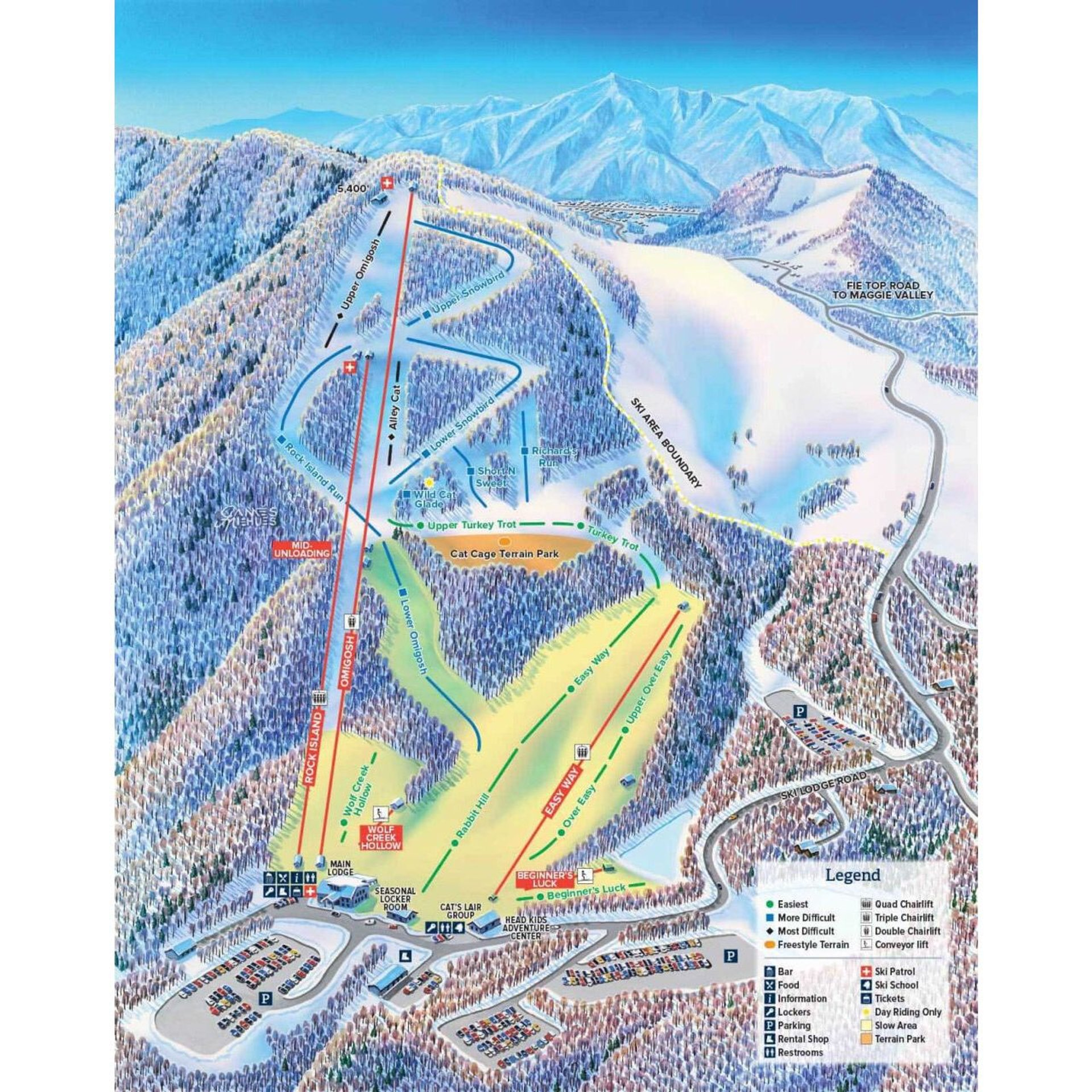 Best time for Skiing and Snowboarding in North Carolina 2020
