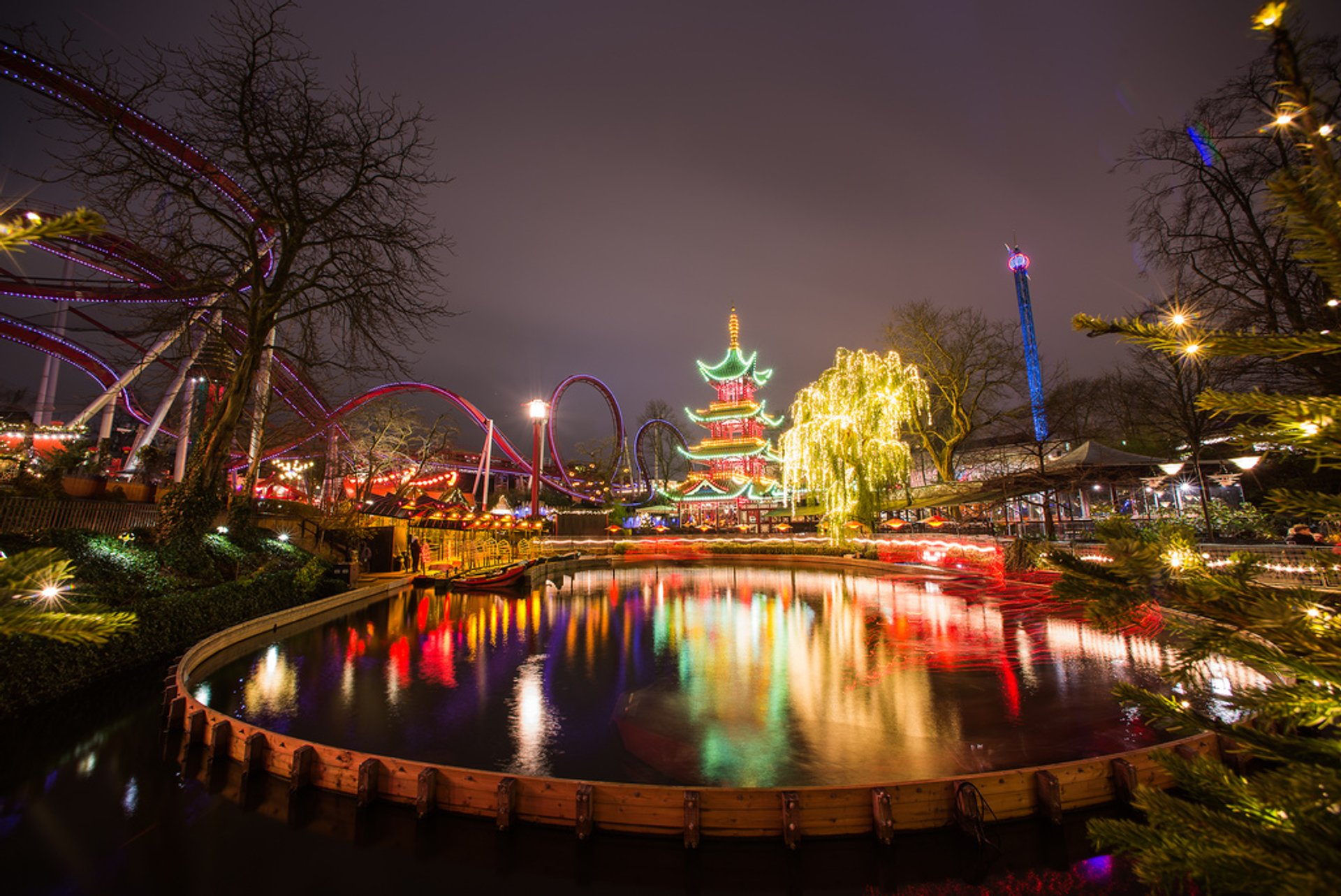 Best time to see Tivoli Gardens (Summer Season) in Copenhagen 2020