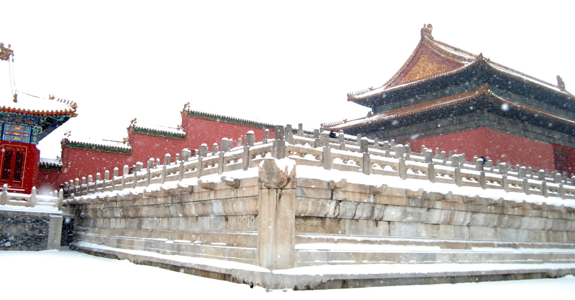 The Forbidden City in January 2020