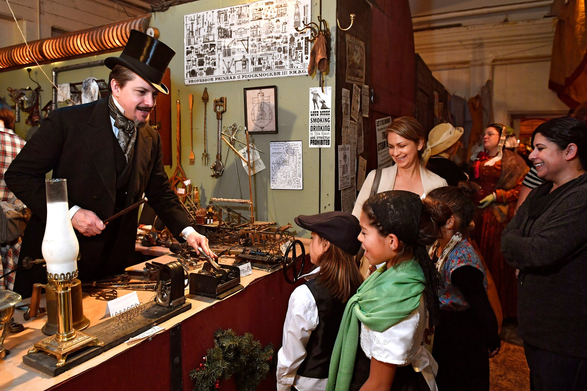 Best time for Great Dickens Christmas Fair in San Francisco