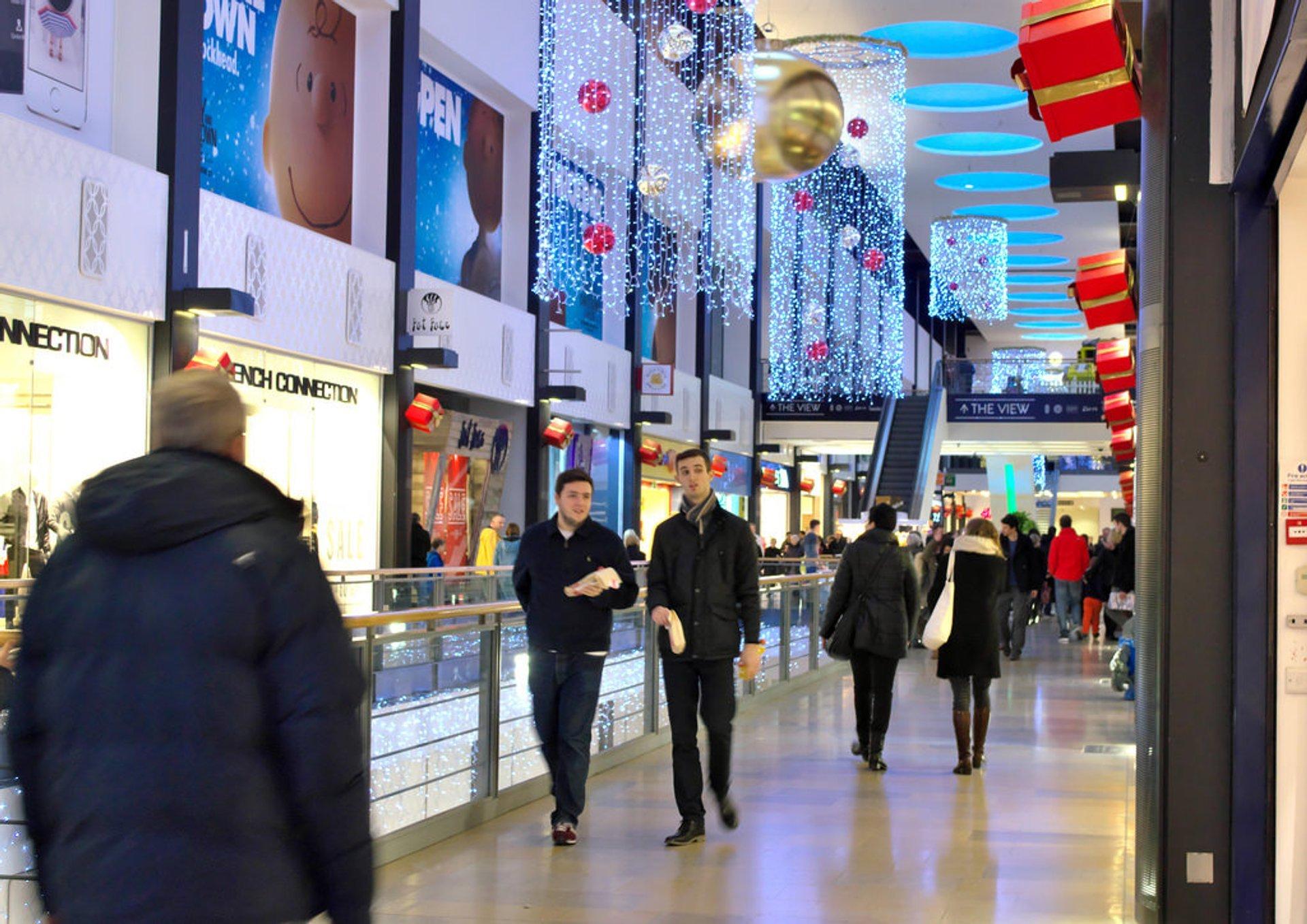 Edinburgh Christmas in Shopping Centre 2020