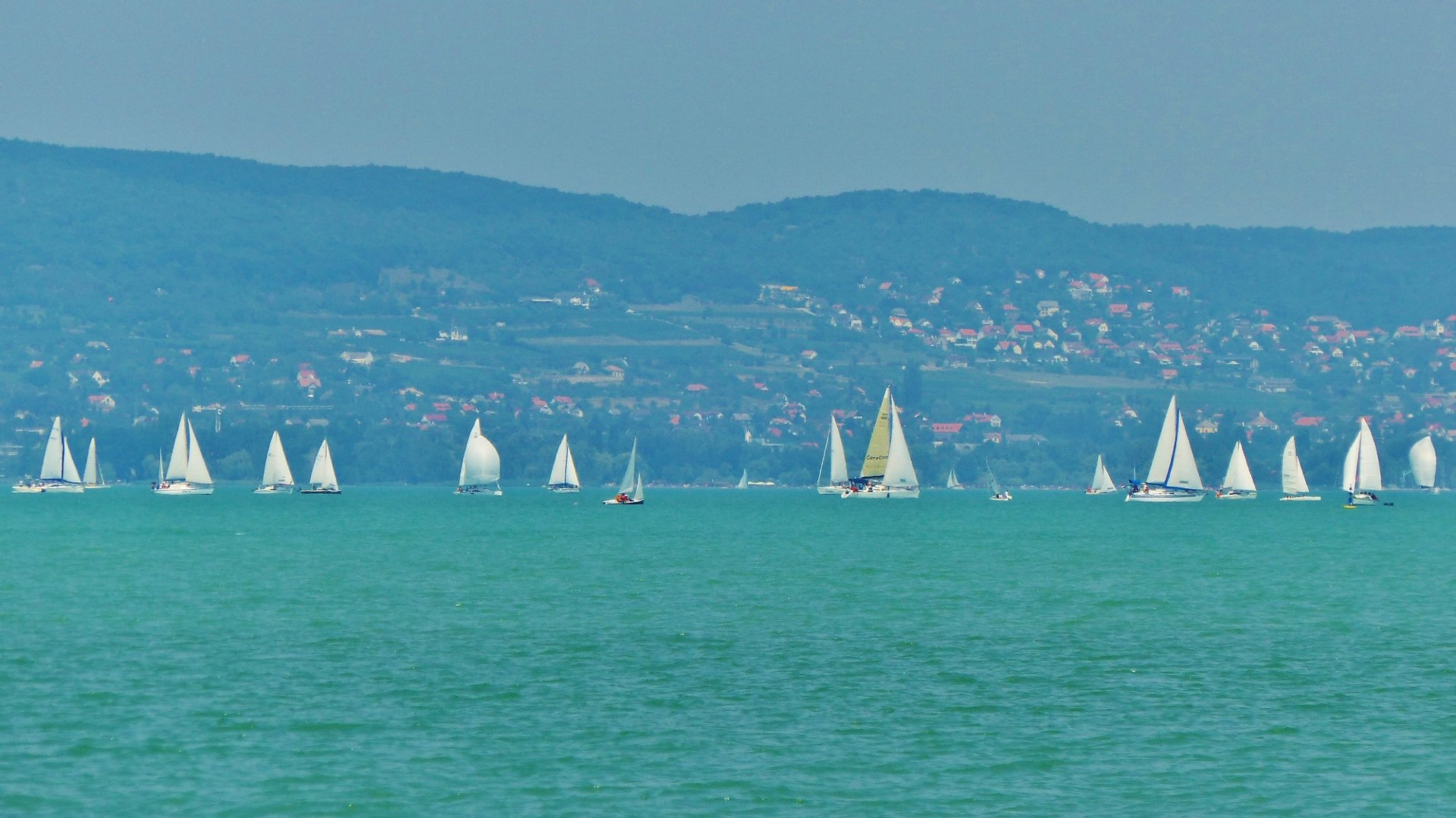 Zamardi on Lake Balaton 2020