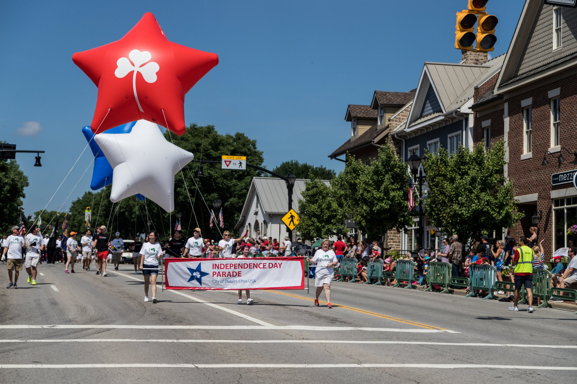 Independence Day Parade in Dublin, Ohio 2020