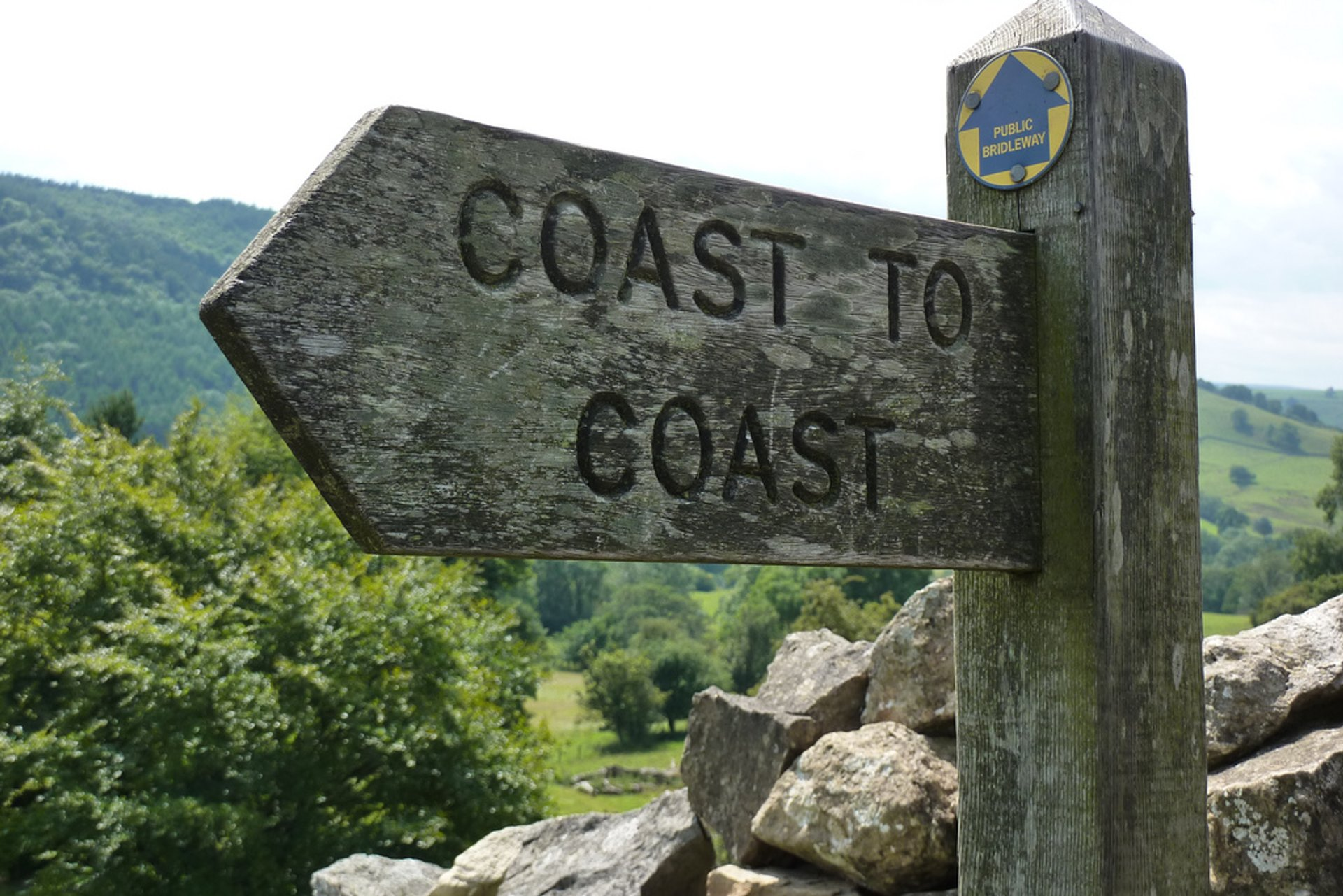 Coast to Coast Walk in England 2019 - Best Time