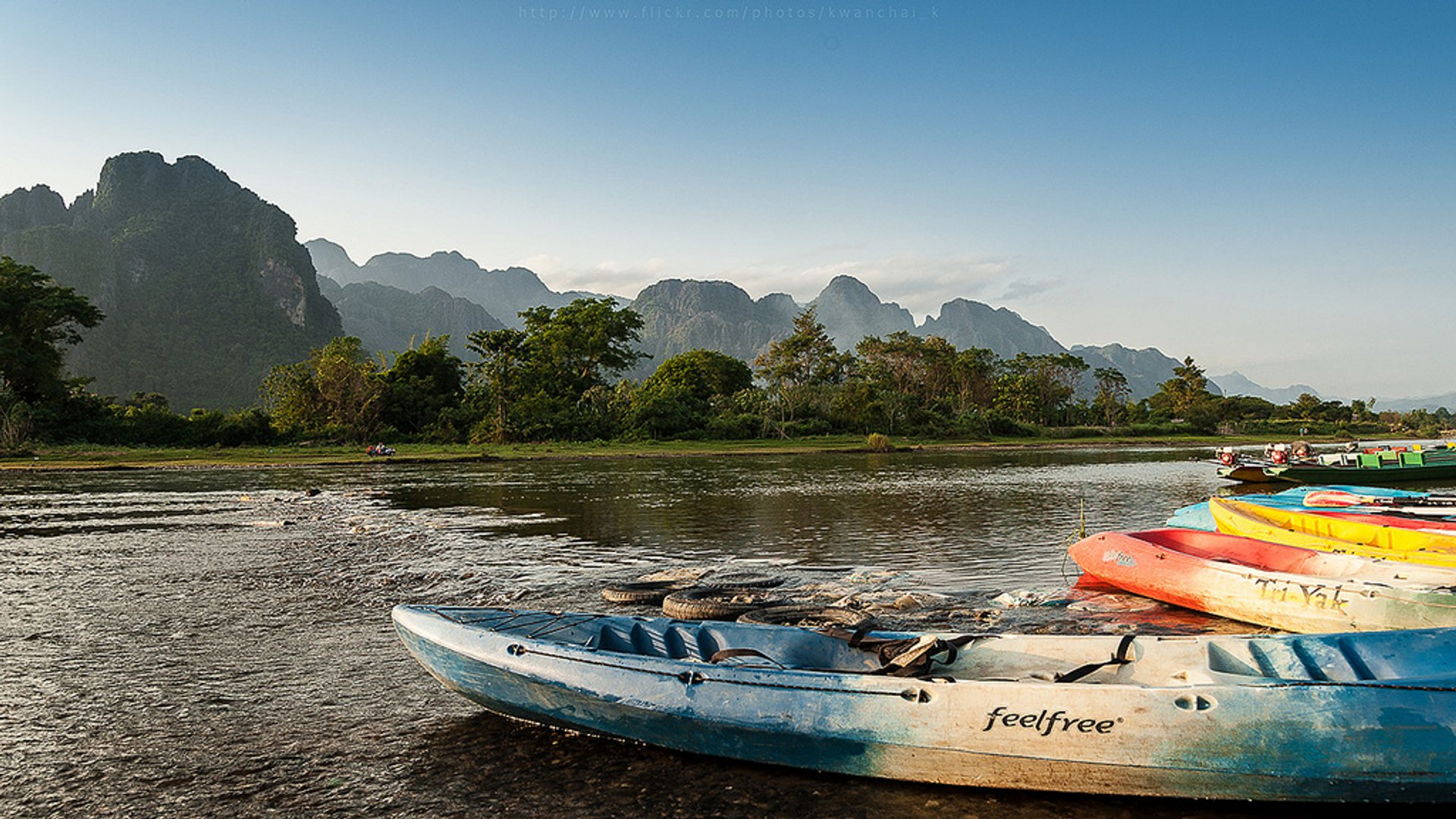 Kayaking in Laos - Best Season 2020