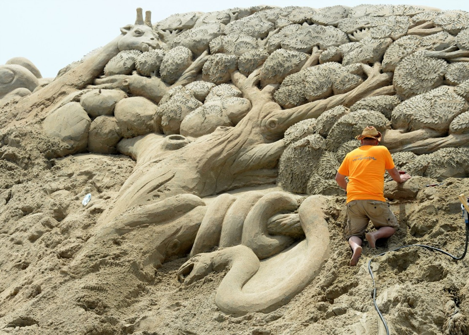 Best time to see Haeundae Sand Festival in South Korea 2020