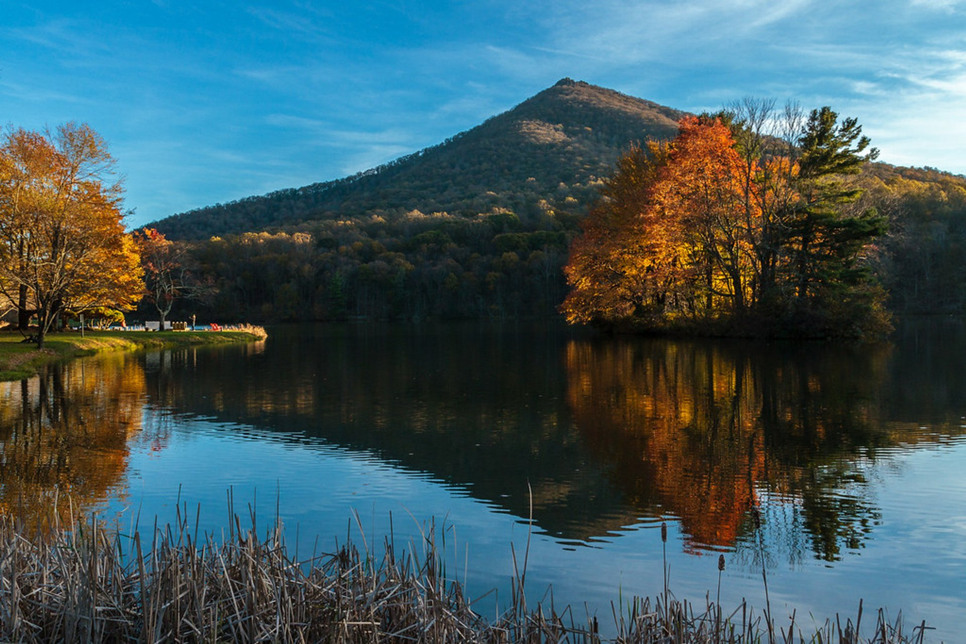 Sharp Top Mountain in Virginia - Best Season 2020