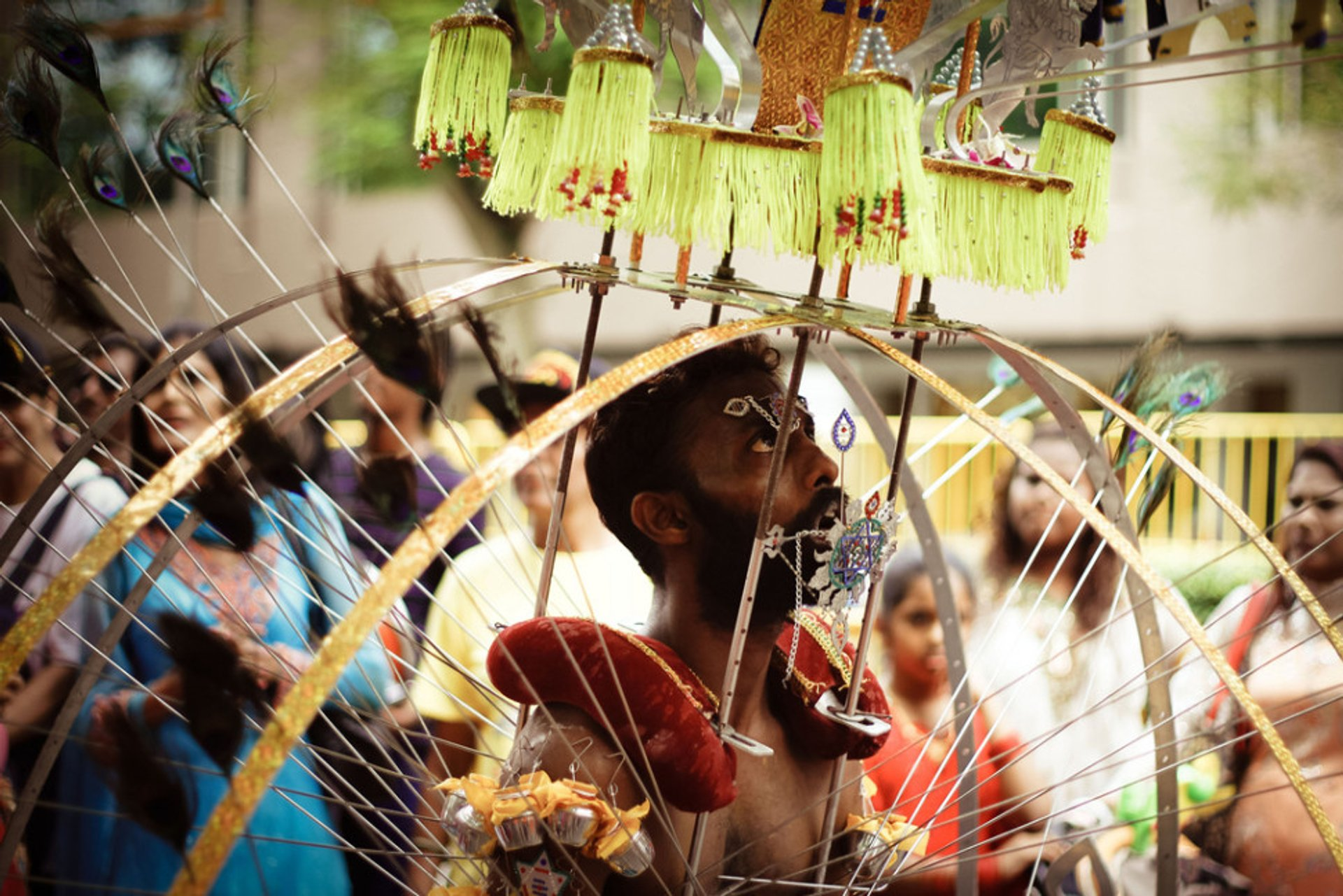 Best time for Thaipusam in Singapore 2020