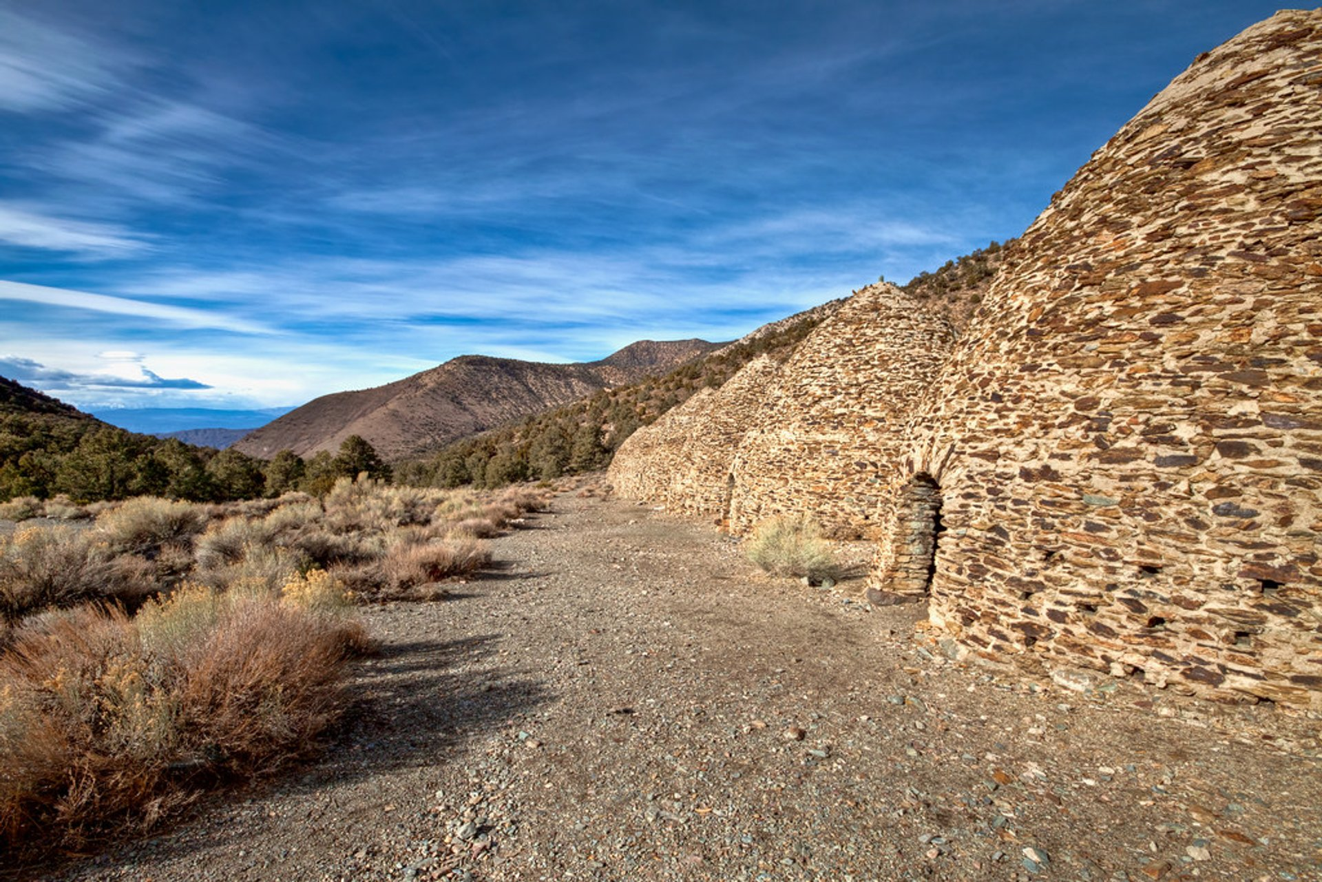 Best time for Wildrose Charcoal Kilns in Death Valley 2020