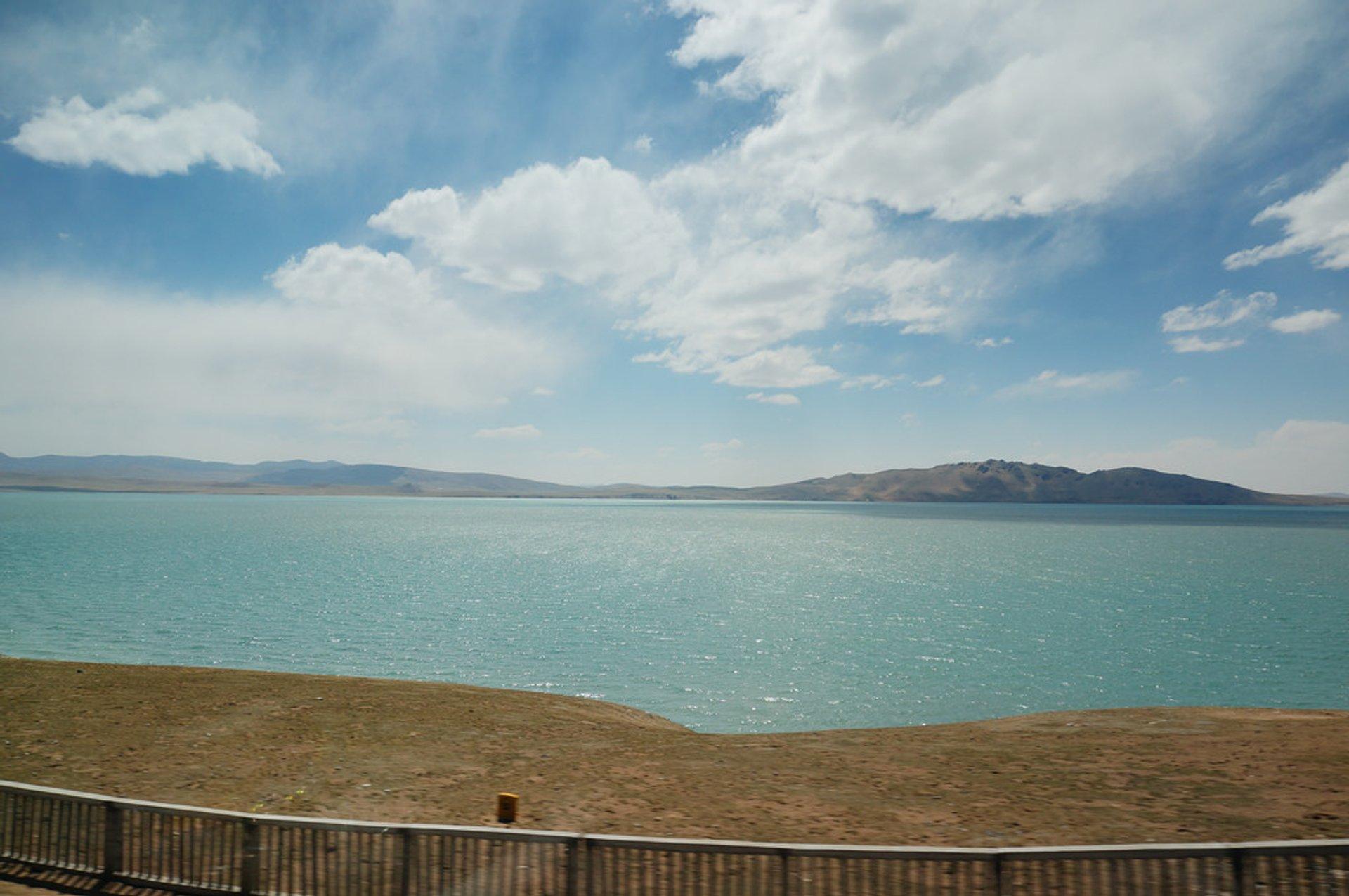 Qinghai-Tibet Railway View 2019