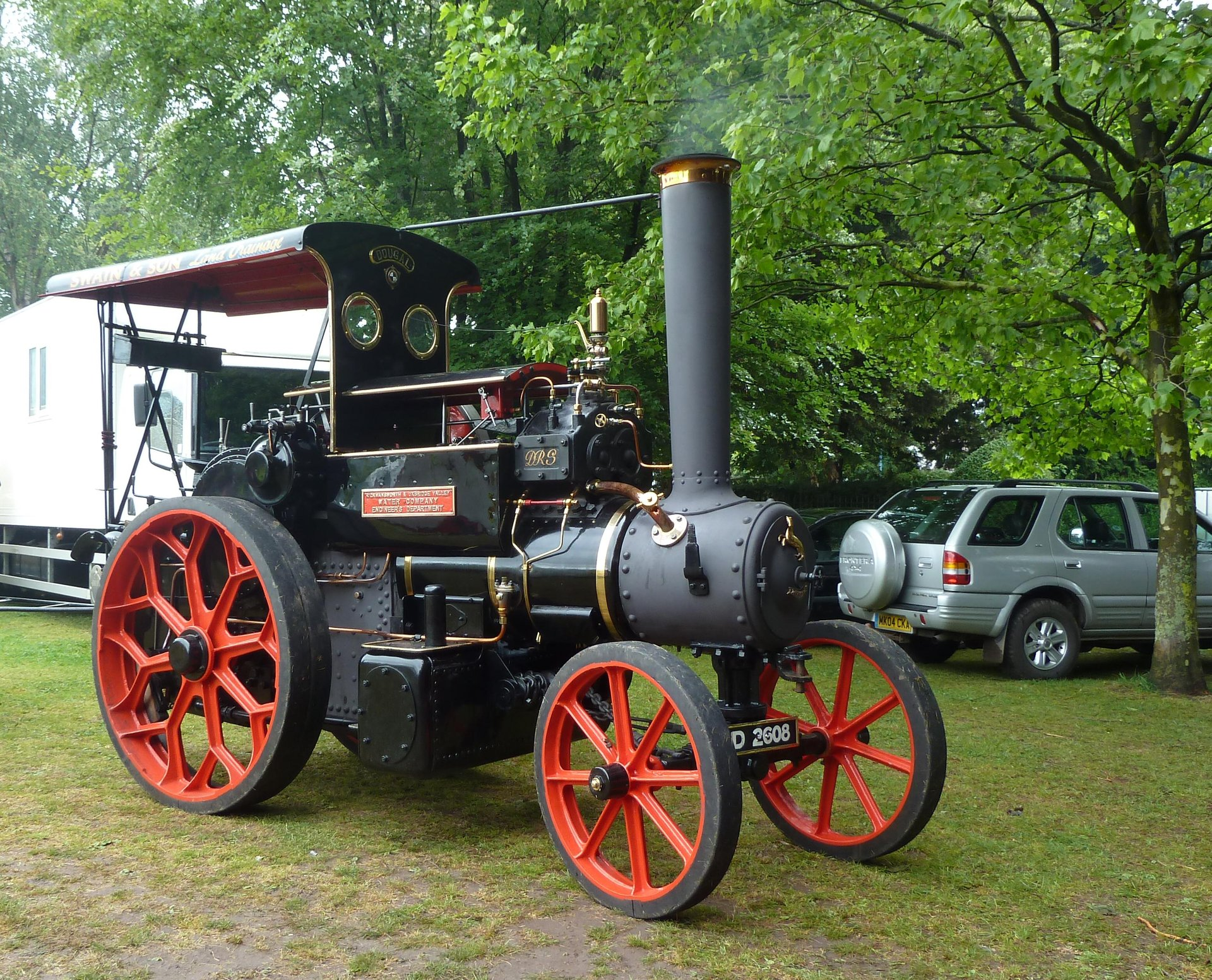 Abergavenny Steam Rally in Wales 2019 - Best Time