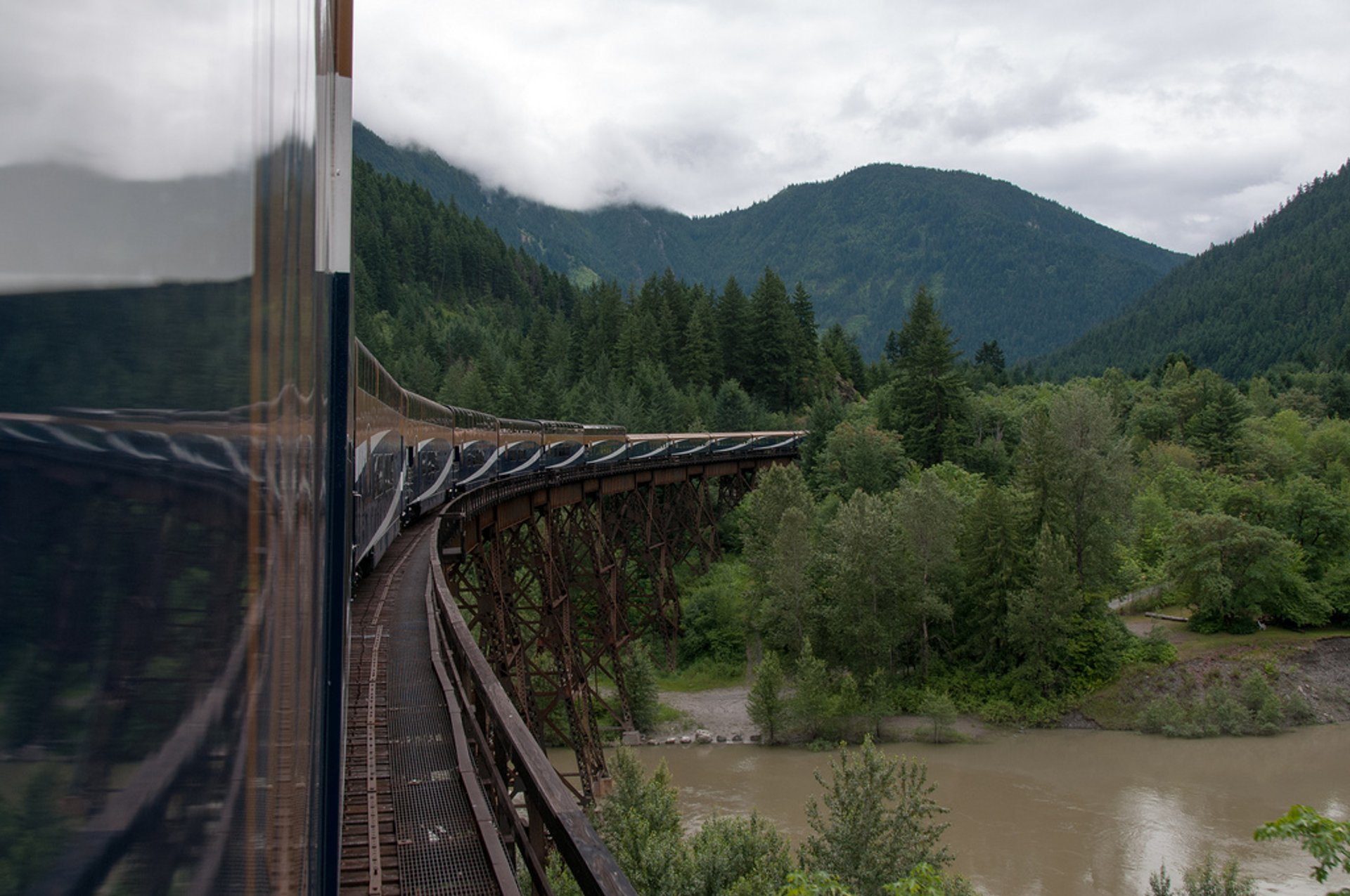 Rocky Mountaineer Train in British Columbia - Best Season 2019