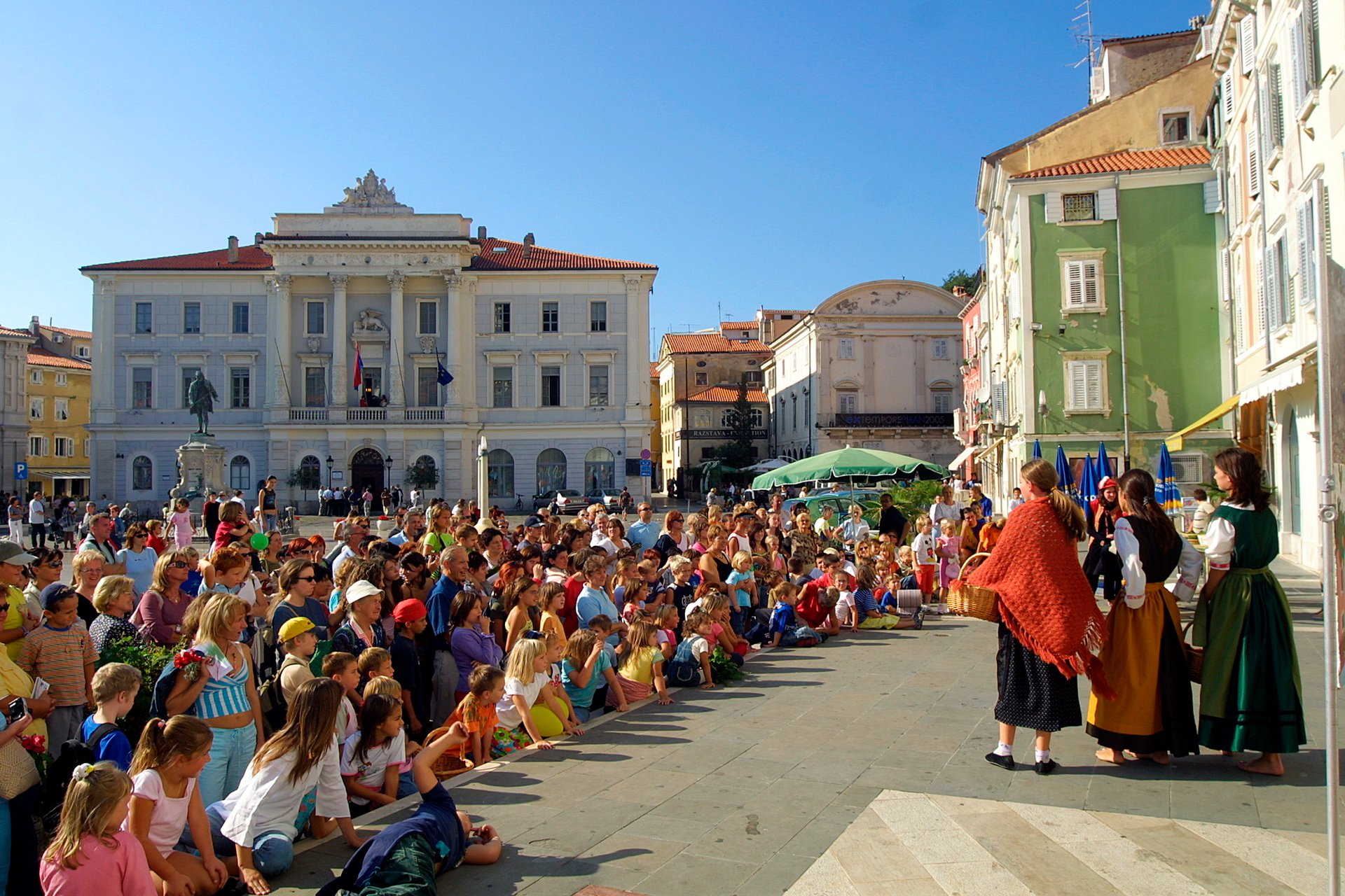 Saltworkers' Festival in St. George's Day, Piran 2020