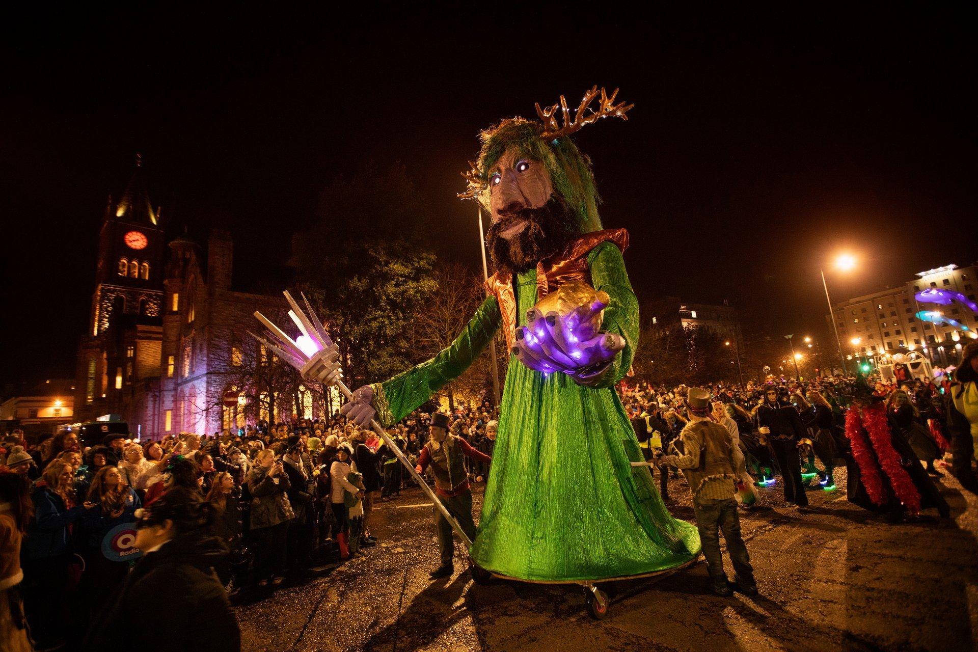 Dublin Halloween Festival 2020 Halloween (Samhain) 2020 in Ireland   Dates & Map