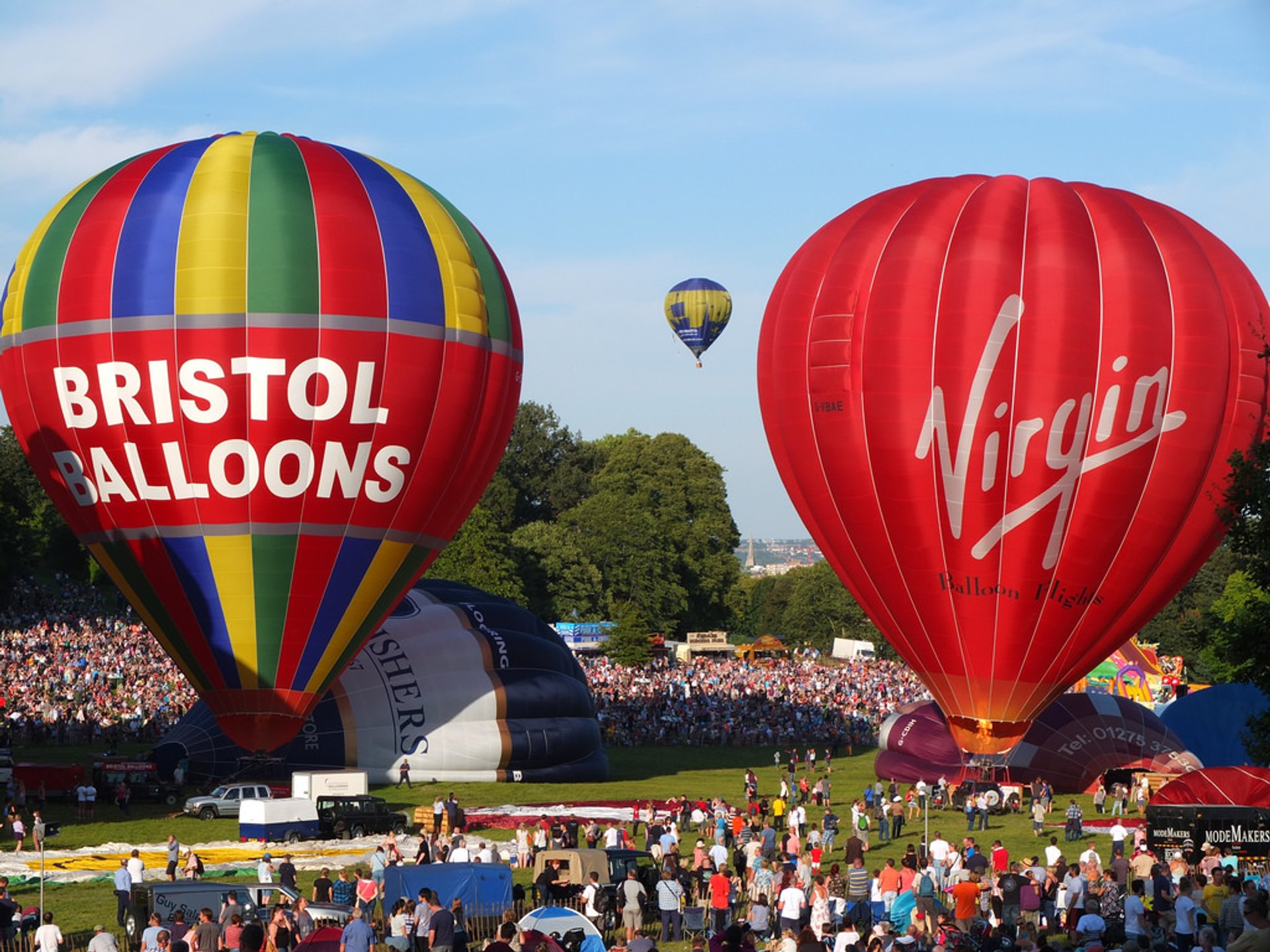 Bristol International Balloon Fiesta in England 2019 - Best Time