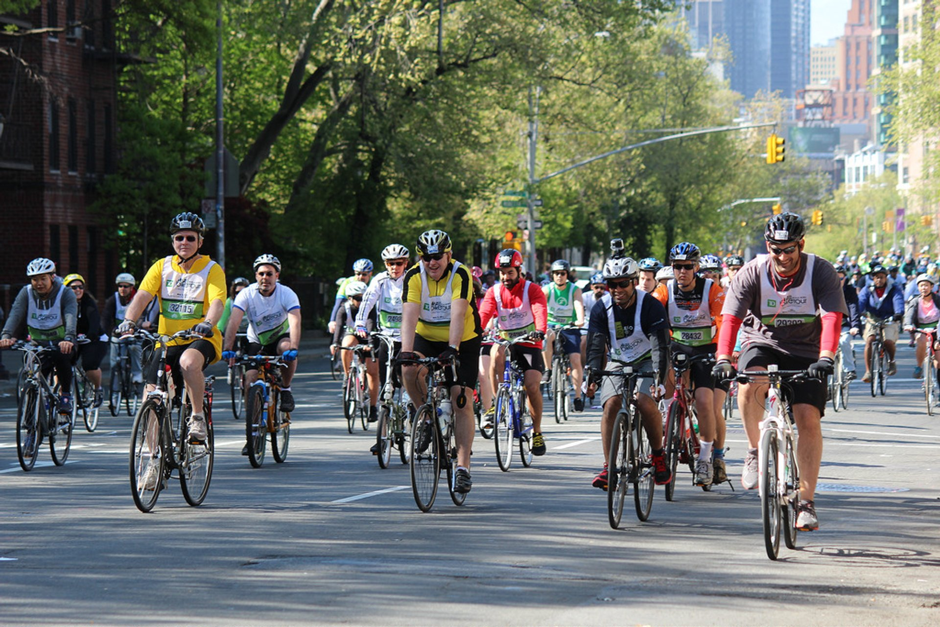 Best time to see Five Boro Bike Tour in New York 2019